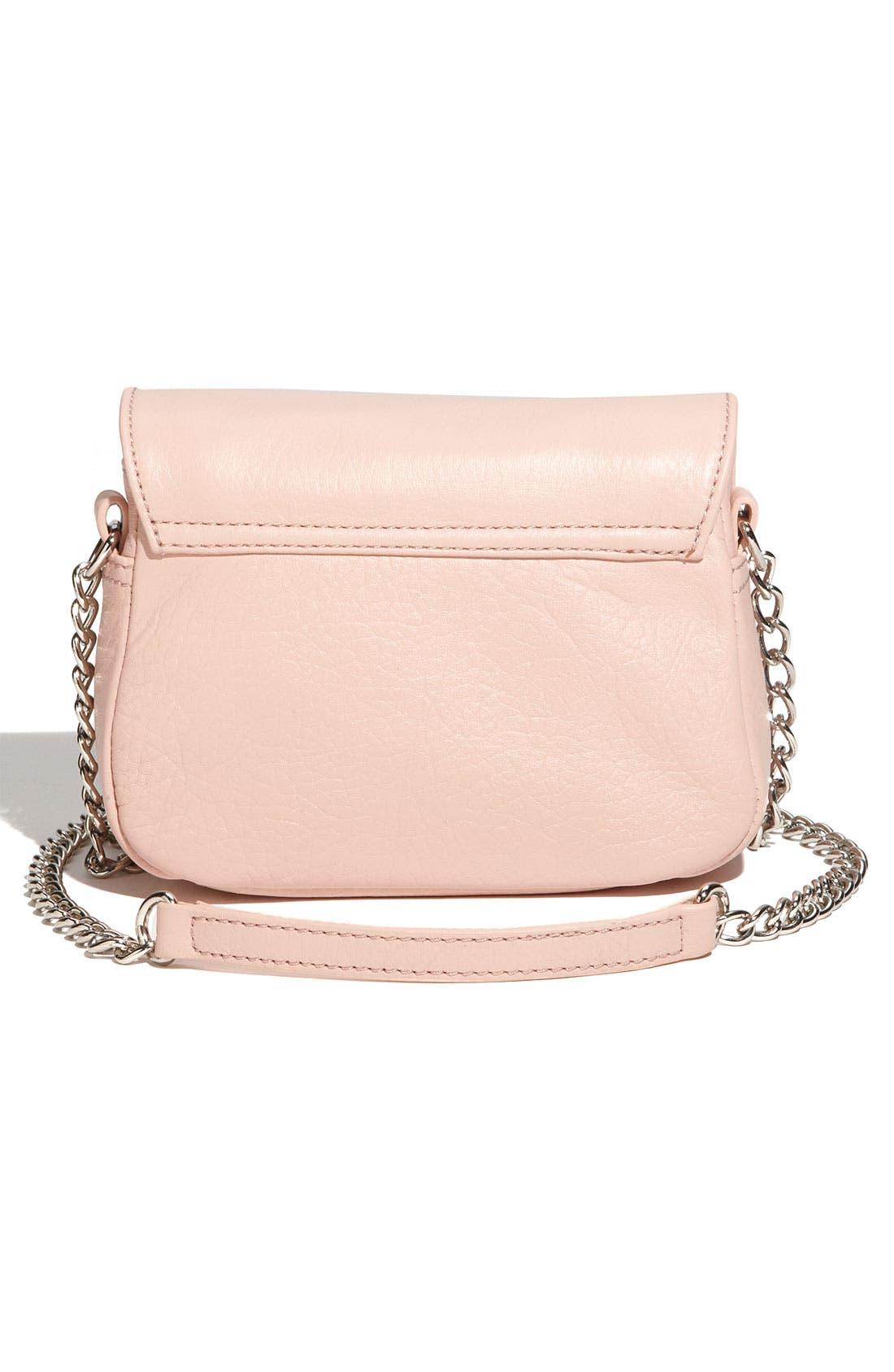 Alternate Image 4  - Franchi Leather Flap Crossbody Bag