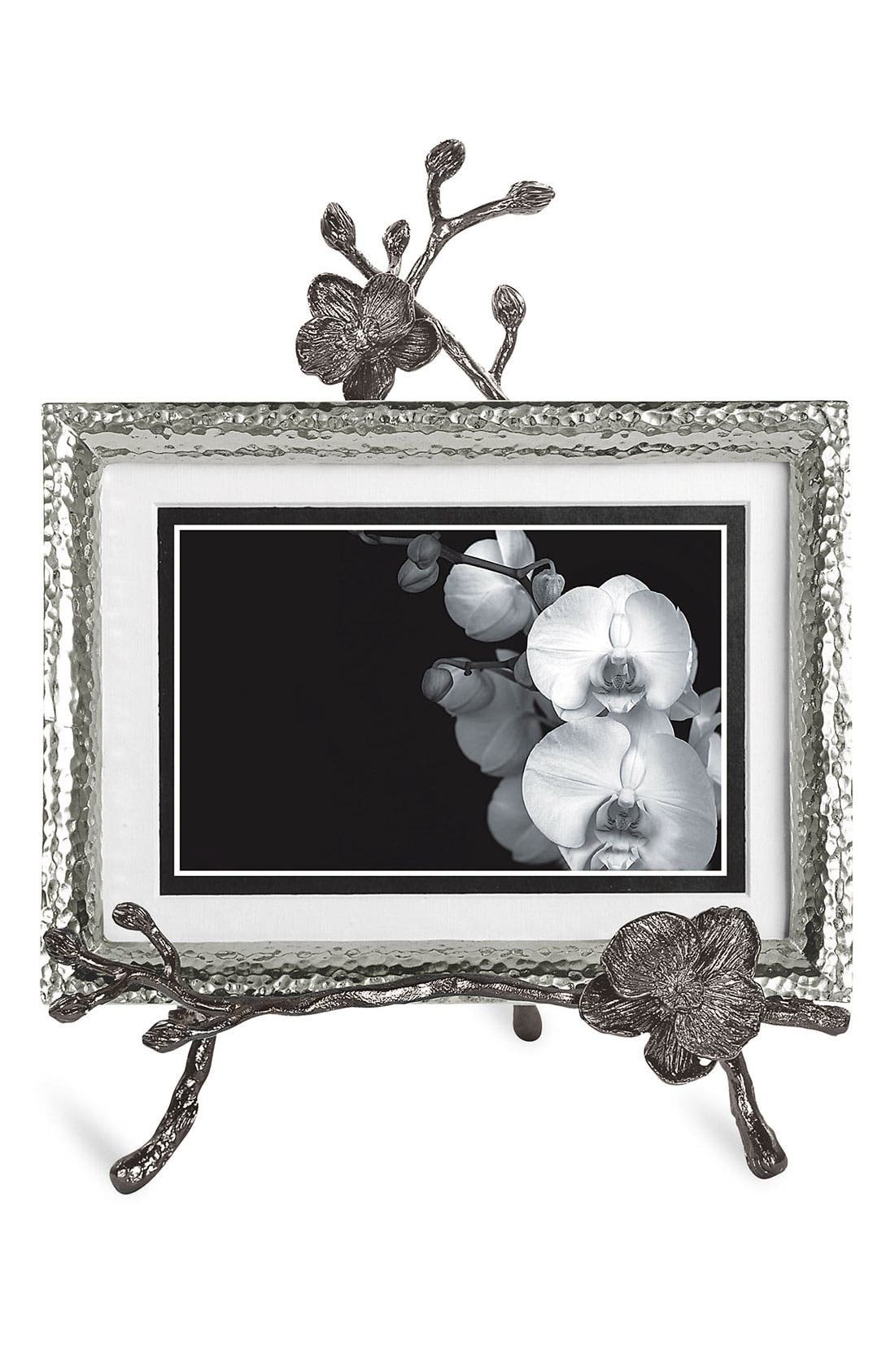 Alternate Image 1 Selected - Michael Aram Black Orchid Convertible Easel Picture Frame