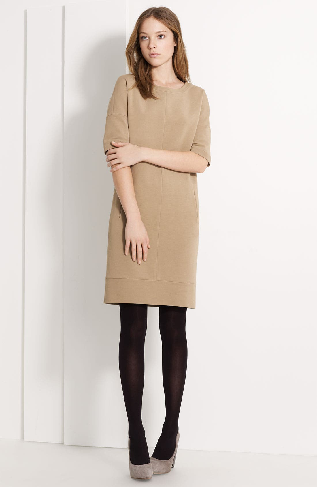 Main Image - Lida Baday Knit Shift Dress