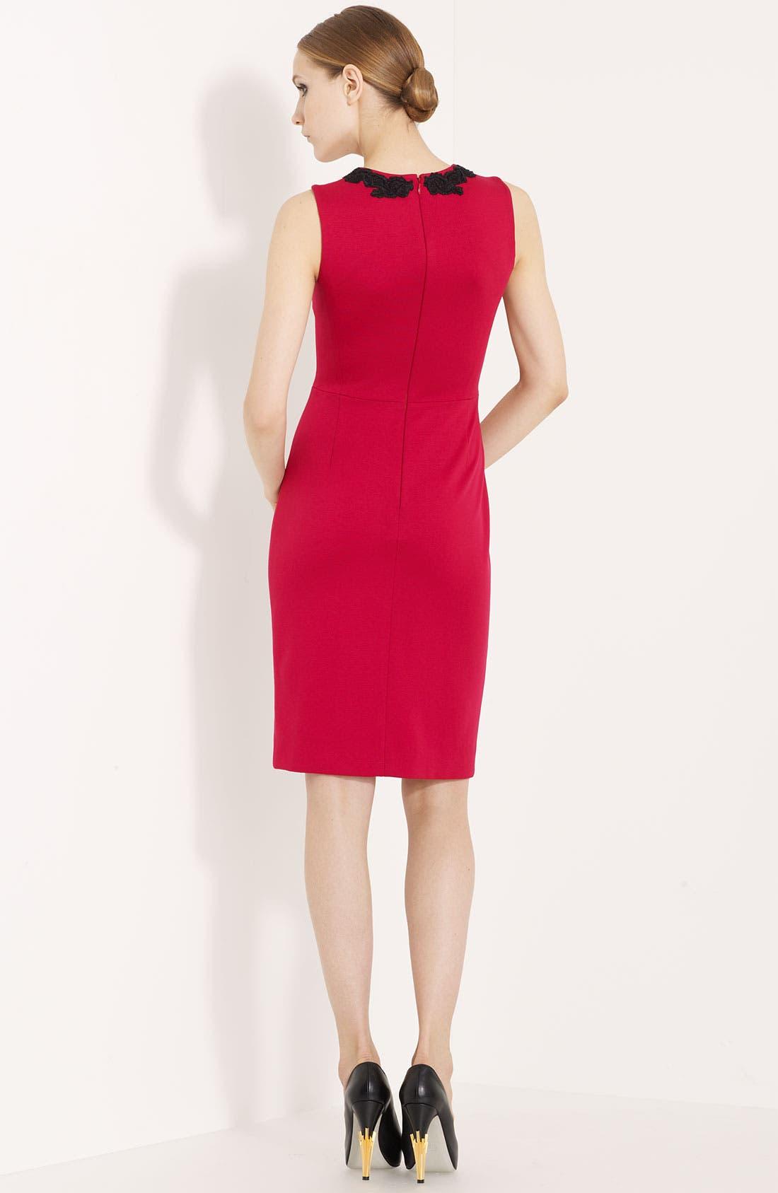 Alternate Image 2  - Jason Wu Embroidered Jersey Dress
