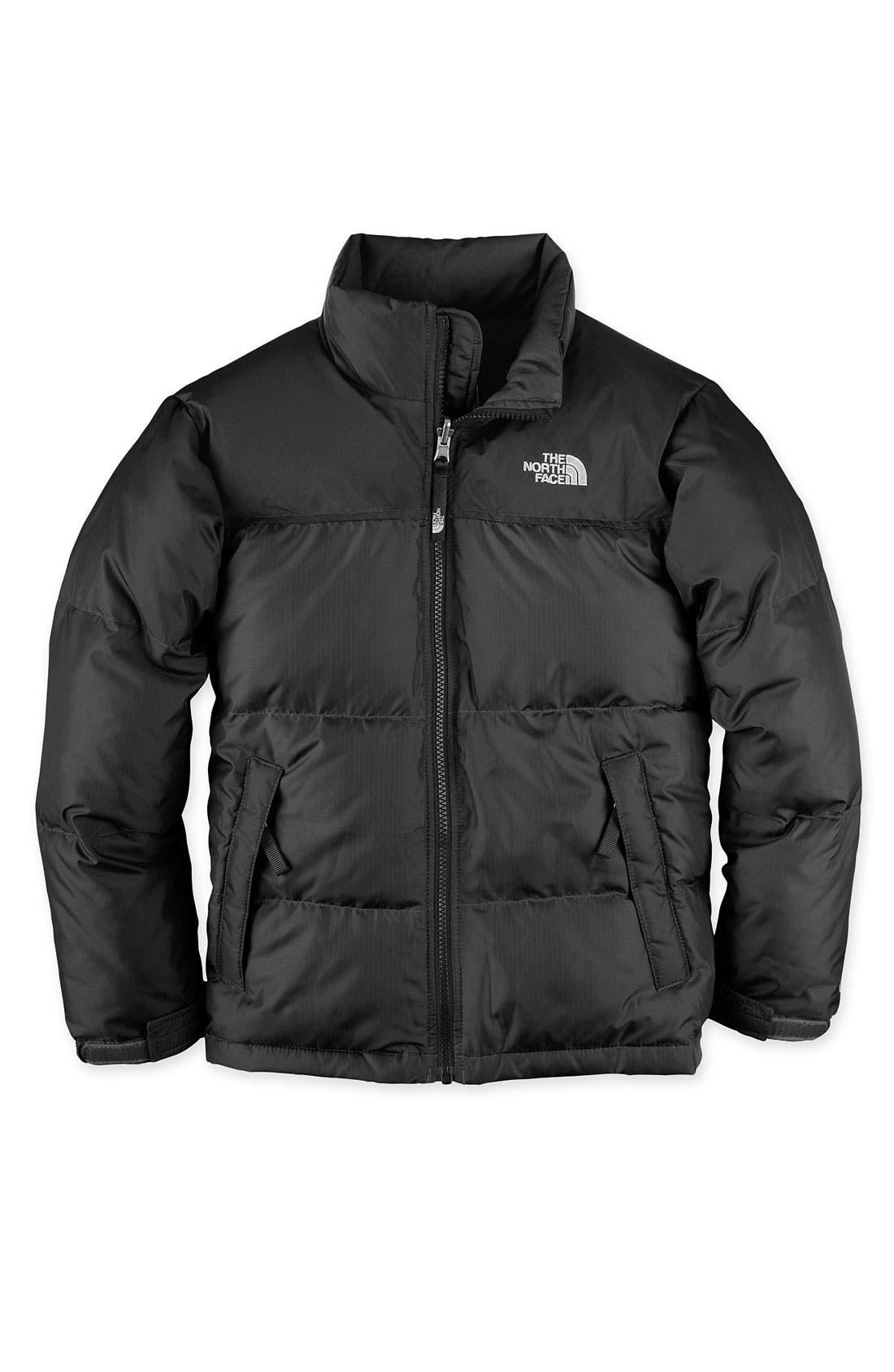 Main Image - The North Face 'Nuptse' 550-Fill Down Jacket (Big Boys)