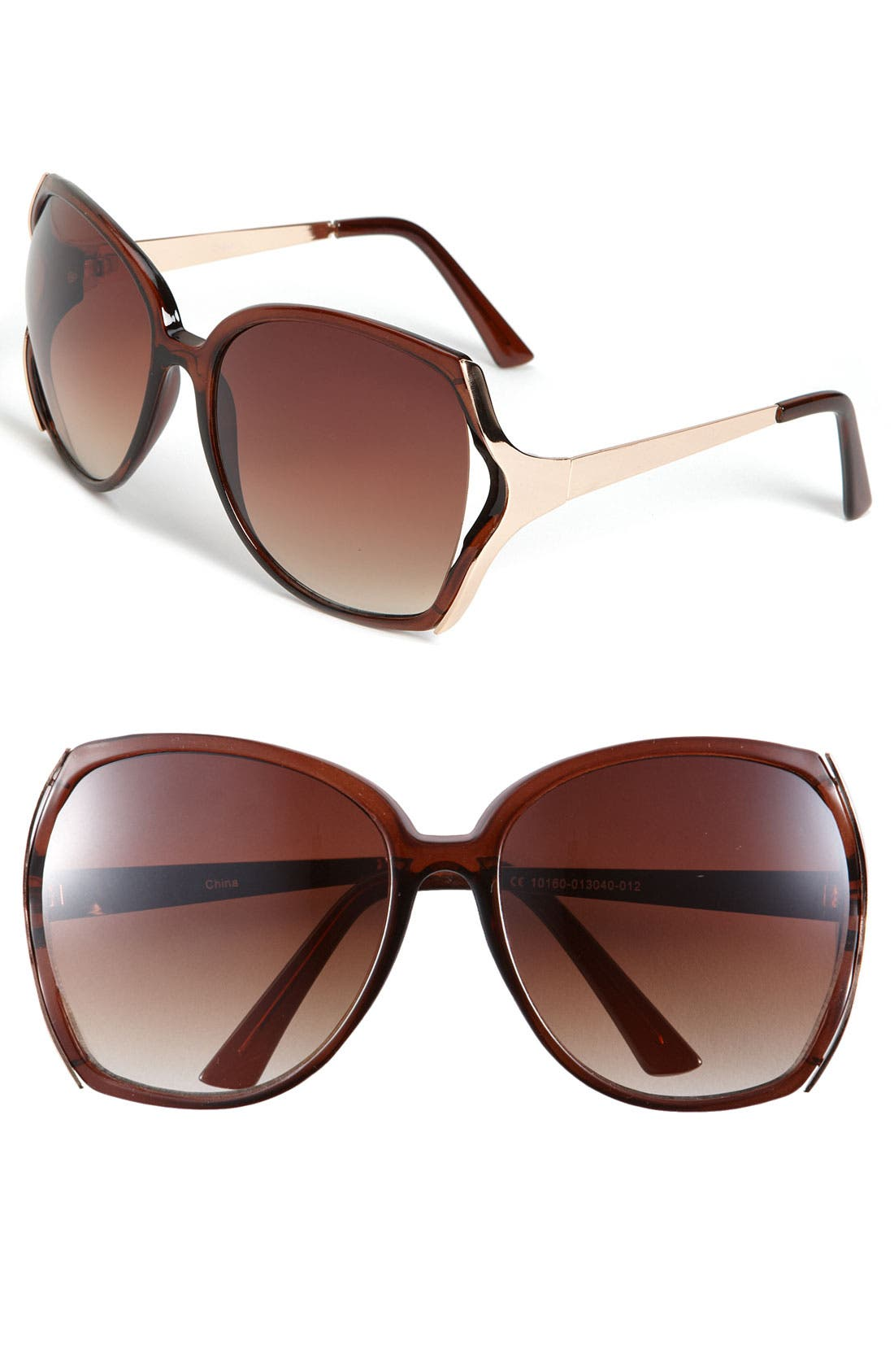 Alternate Image 1 Selected - Icon Eyewear 'Paris' Sunglasses (2 for $20)