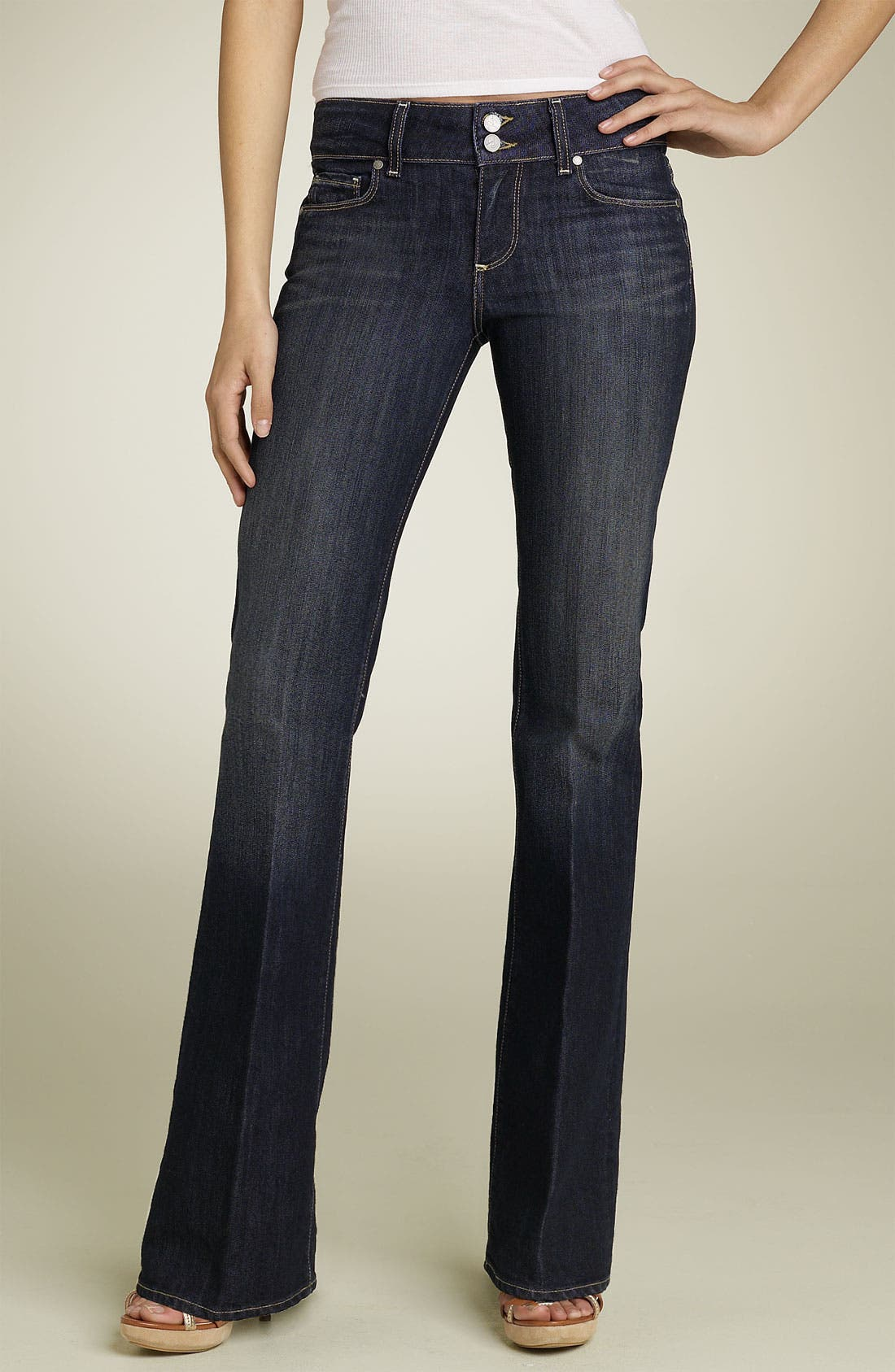 Main Image - Paige Denim 'Hidden Hills' Bootcut Stretch Jeans (McKinley)