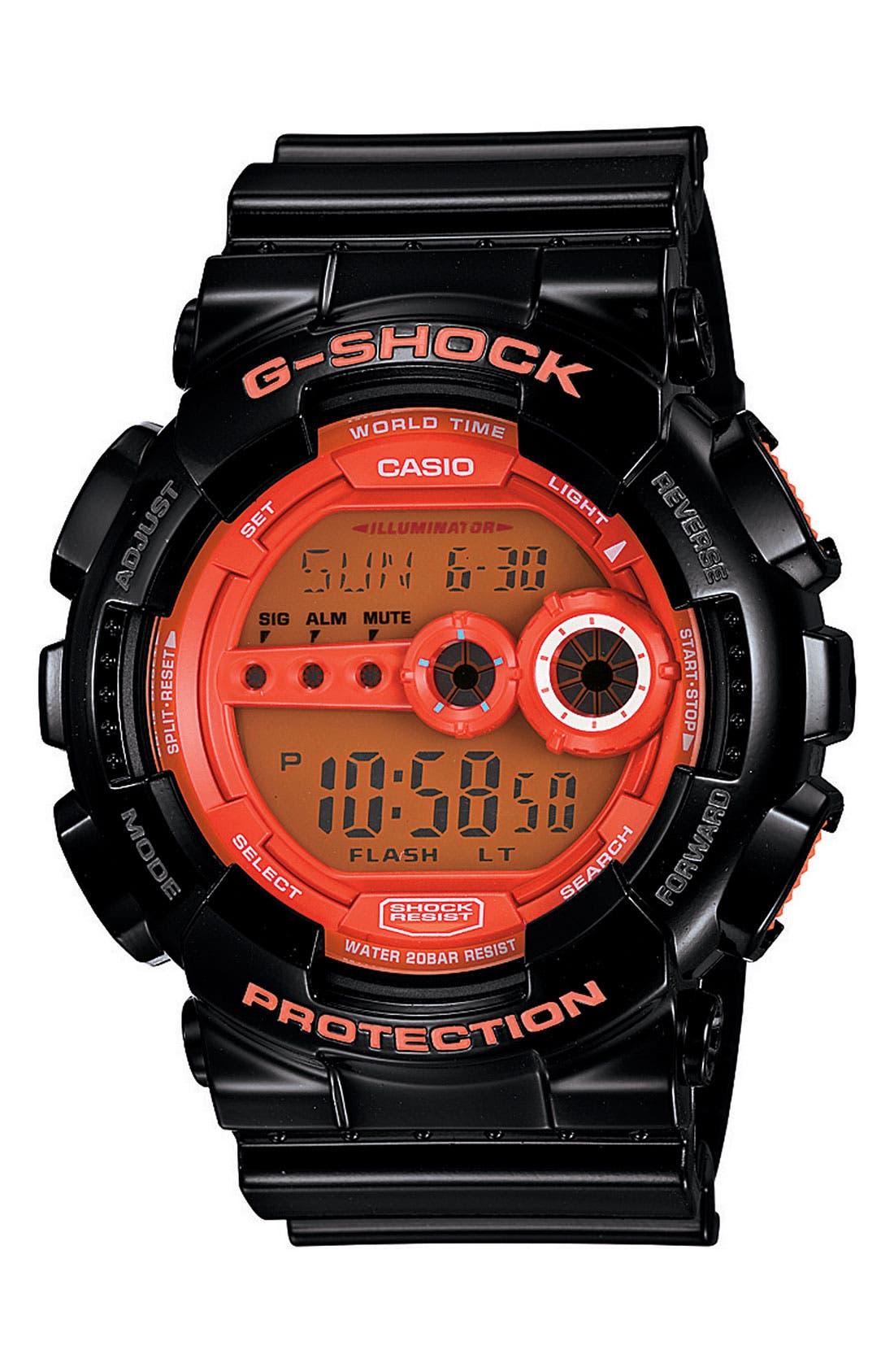 Alternate Image 1 Selected - G-Shock 'Super Luminosity' Digital Watch, 48mm