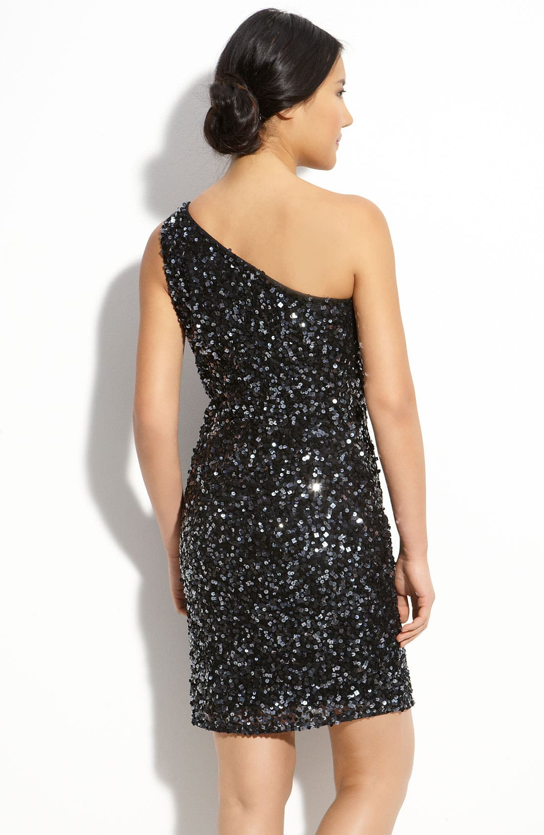 Alternate Image 2  - Pisarro Nights Sequin Mesh Dress