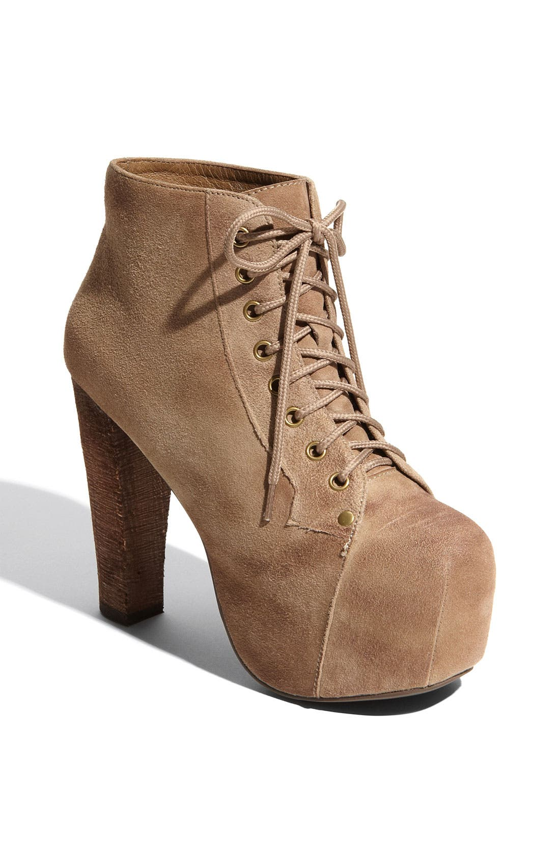 Alternate Image 1 Selected - Jeffrey Campbell 'Lita' Suede Bootie (Women)
