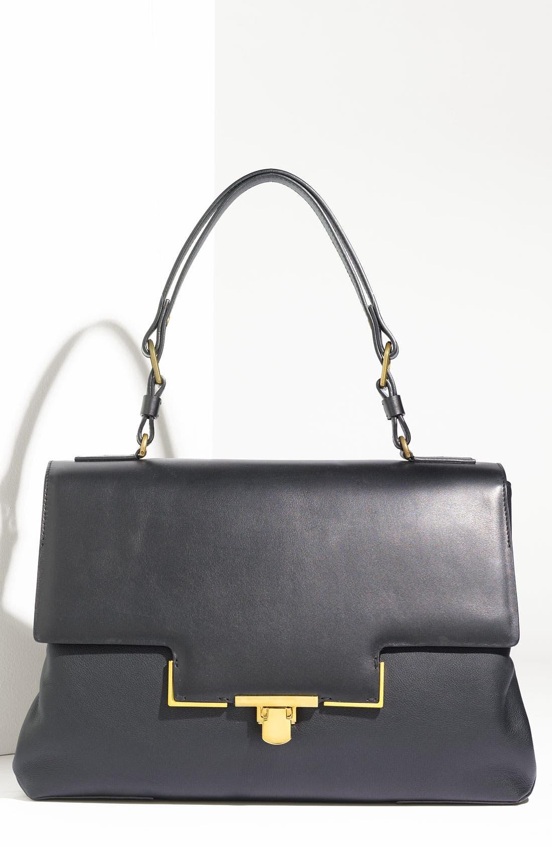 Alternate Image 1 Selected - Lanvin 'Miss Sartorial' Leather Shoulder Bag
