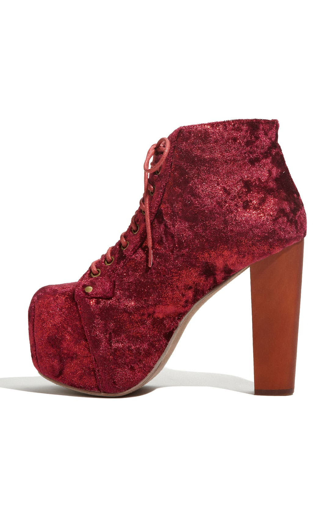 Alternate Image 2  - Jeffrey Campbell 'Lita' Velvet Bootie