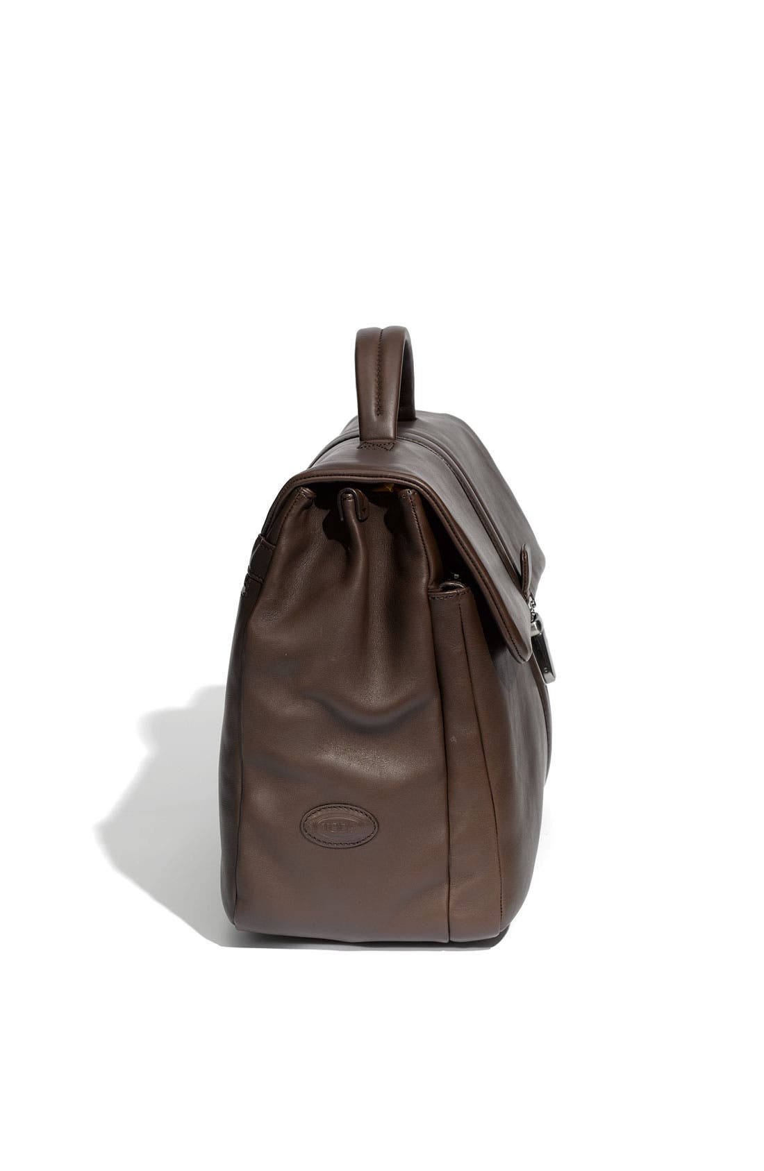Alternate Image 3  - Tod's Smooth Leather Briefcase