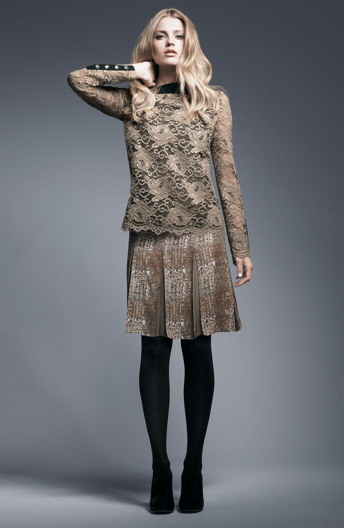Alternate Image 2  - Tory Burch 'Neely' Lace Tunic