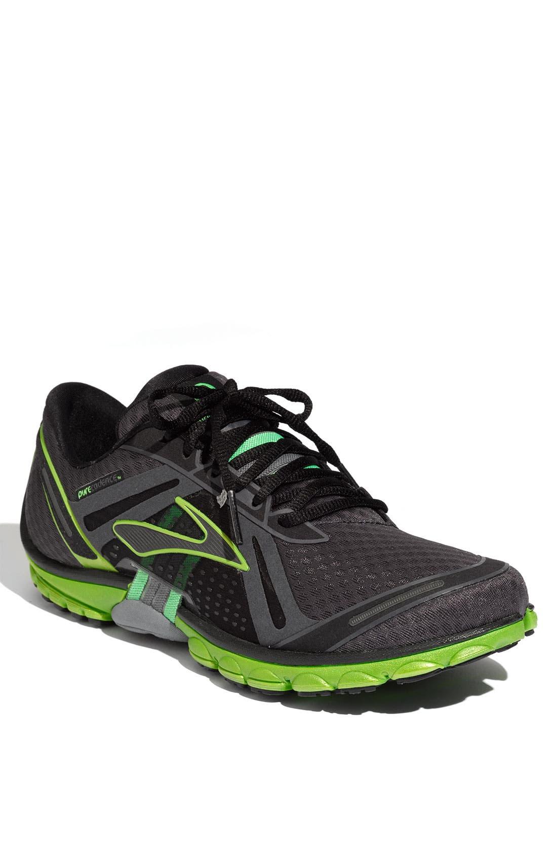 Alternate Image 1 Selected - Brooks 'PureCadence' Running Shoe (Men)