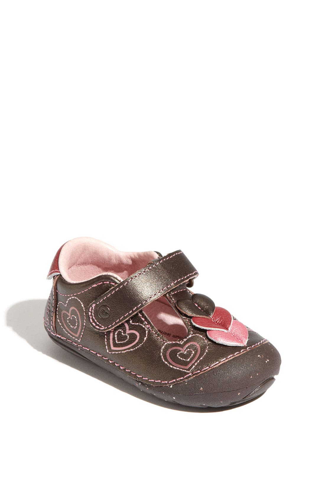 Main Image - Stride Rite 'Ava' T-Strap Mary Jane (Baby & Walker)