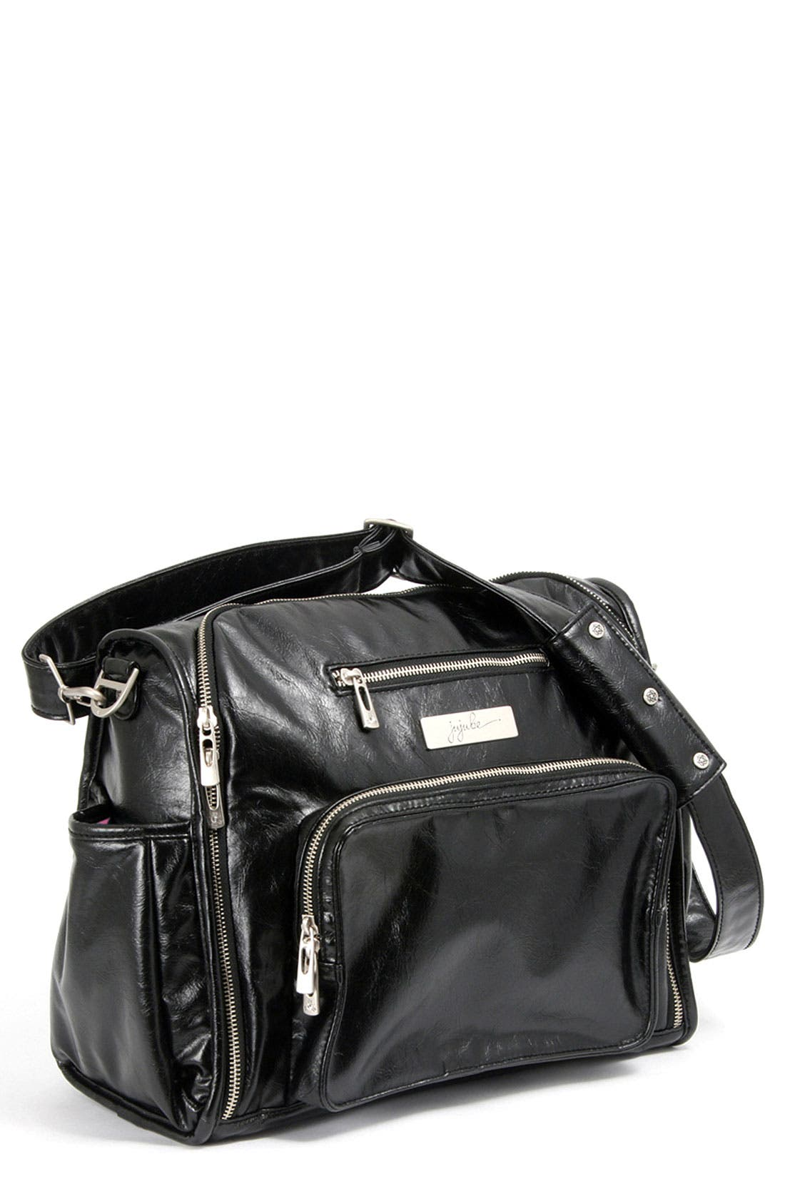 Alternate Image 1 Selected - Ju-Ju-Be 'Be Fabulous' Earth Leather™ Faux Leather Diaper Bag