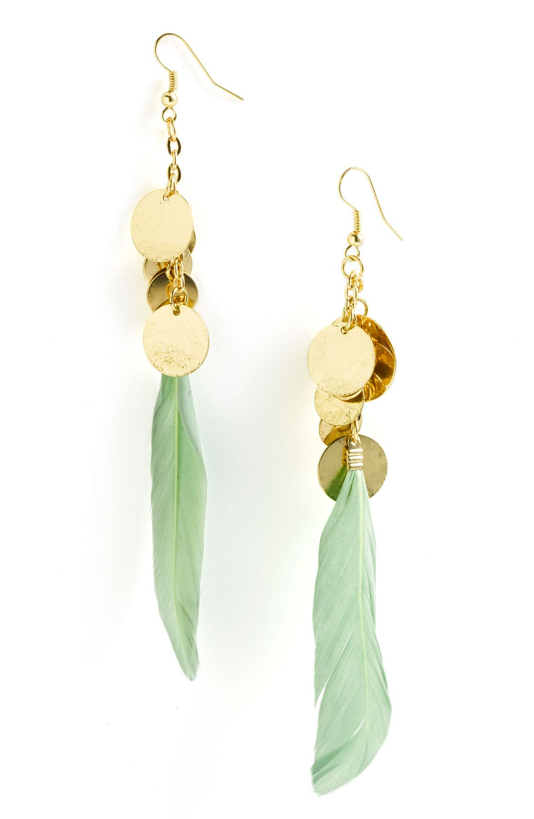 Alternate Image 1 Selected - Alexia Crawford Feather Earrings