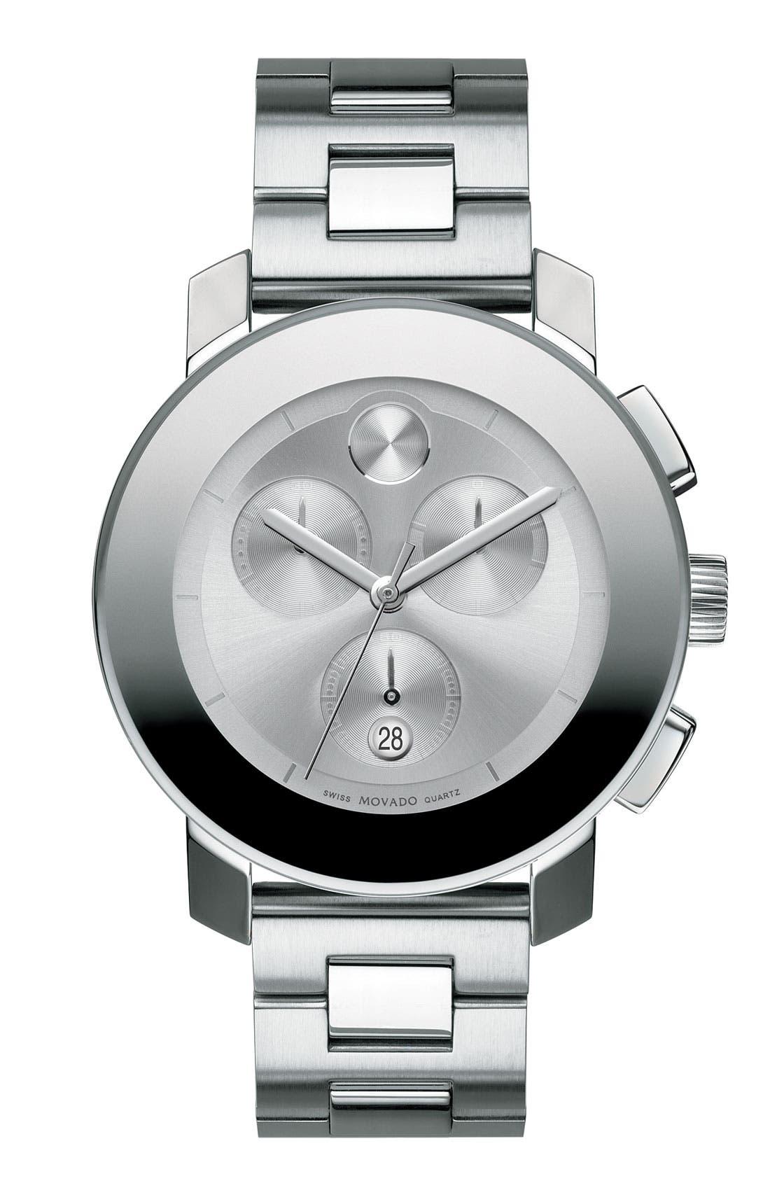 Main Image - Movado 'Bold Chronograph' Bracelet Watch, 38mm