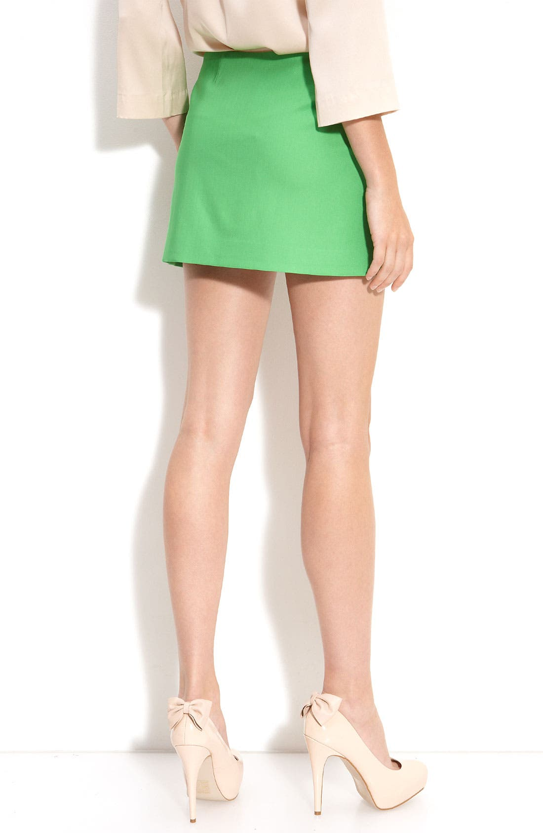 Alternate Image 2  - Diane von Furstenberg 'Azumi' Zip Slit Mini Skirt