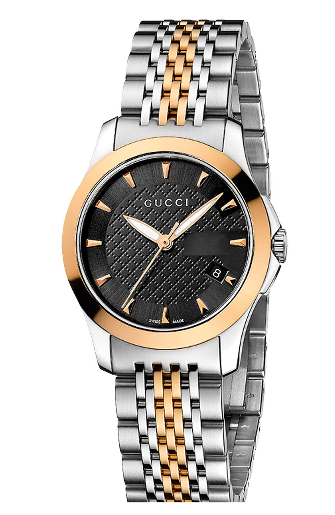 Main Image - Gucci 'G Timeless' Small Bracelet Watch, 27mm
