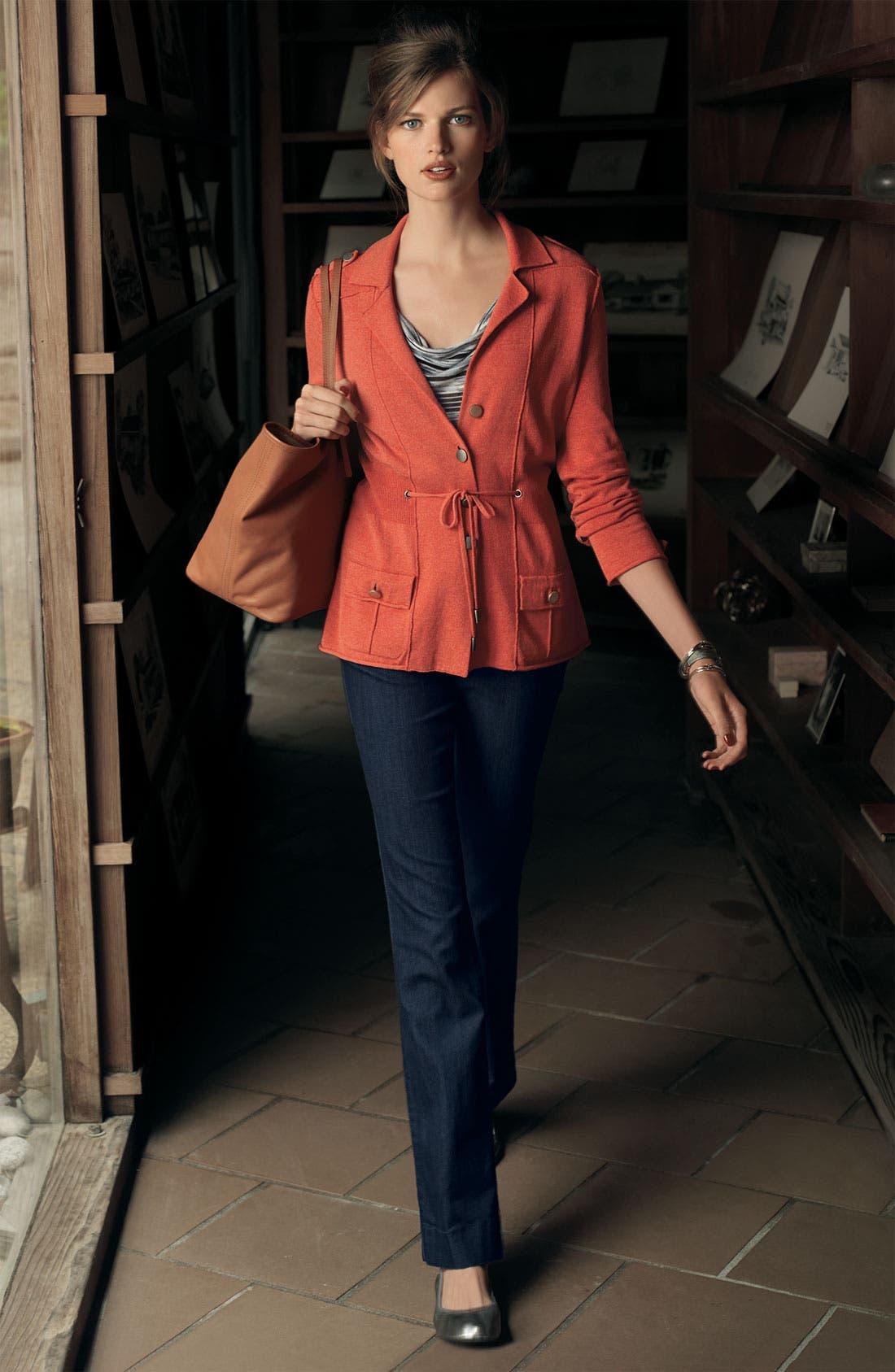 Alternate Image 3  - NYDJ 'Michelle' Trouser Jeans (Plus Size)