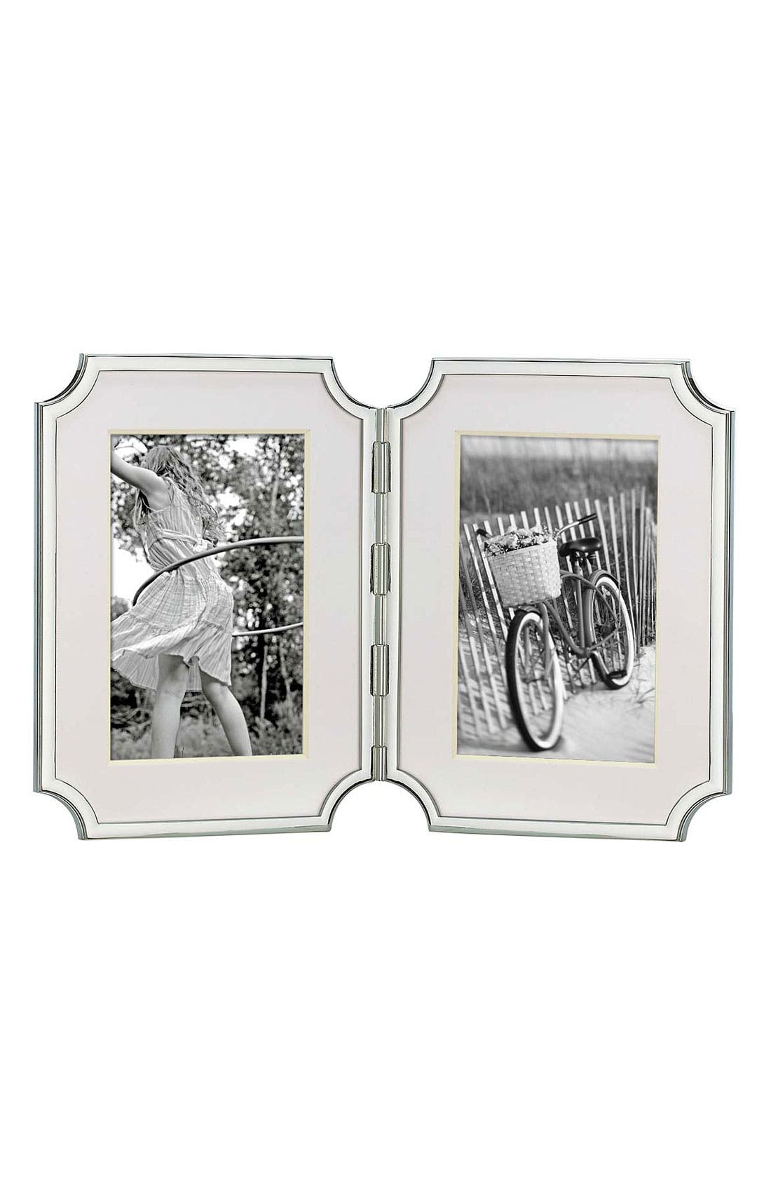 Alternate Image 1 Selected - kate spade new york 'sullivan street' hinged double frame