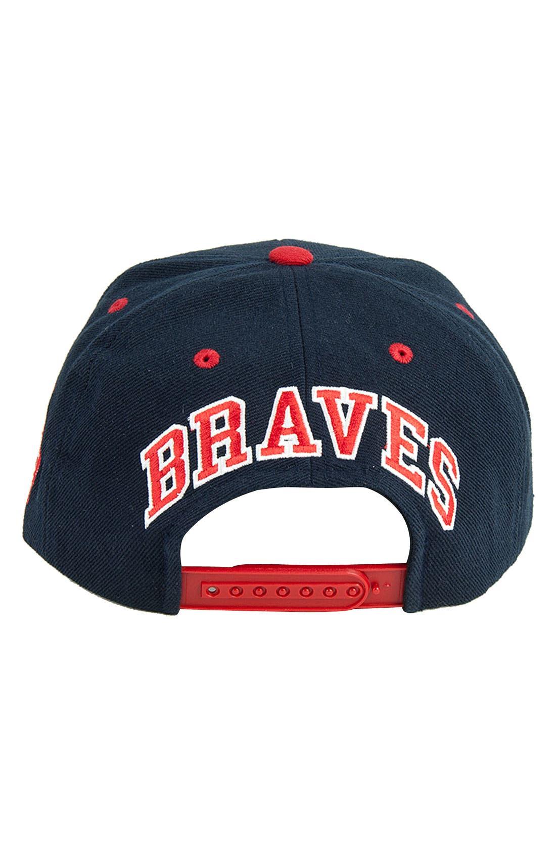Alternate Image 2  - American Needle 'Blockhead Braves' Snapback Baseball Cap