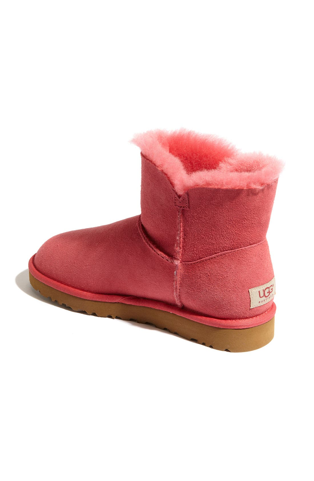 Alternate Image 2  - UGG® 'Mini Bailey Button' Boot (Women)