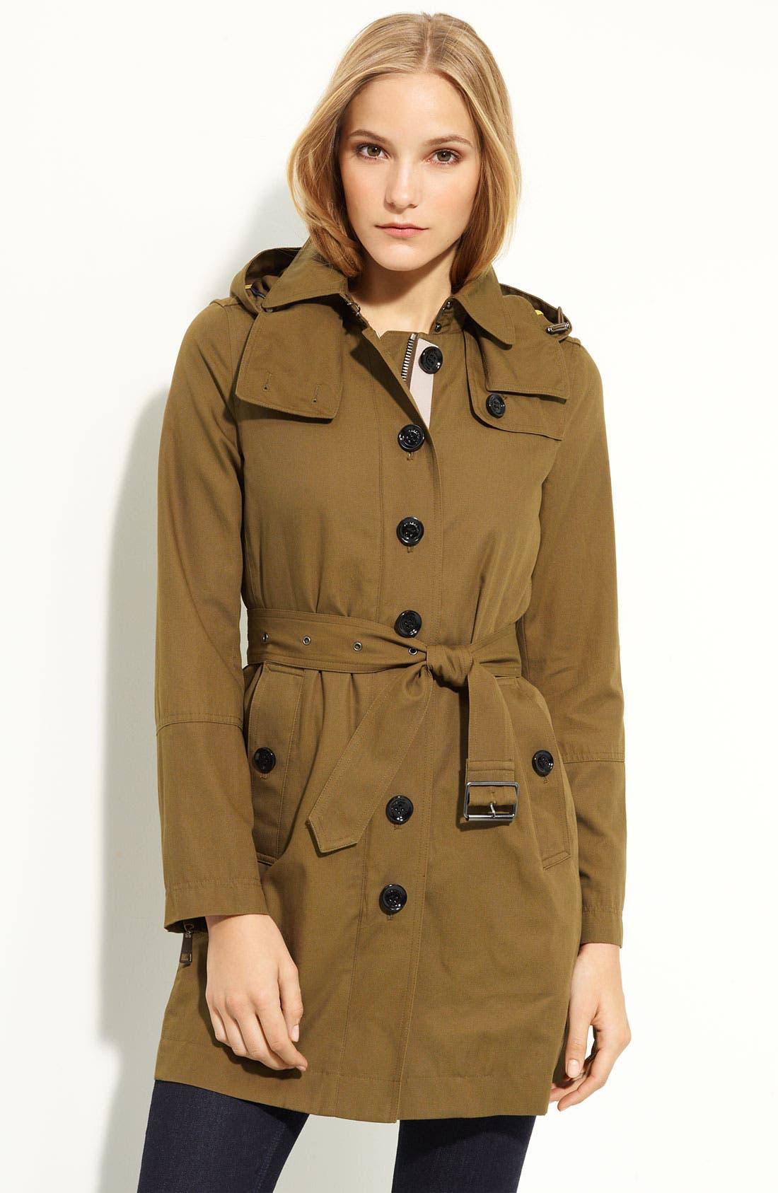Alternate Image 1 Selected - Burberry Brit Raincoat