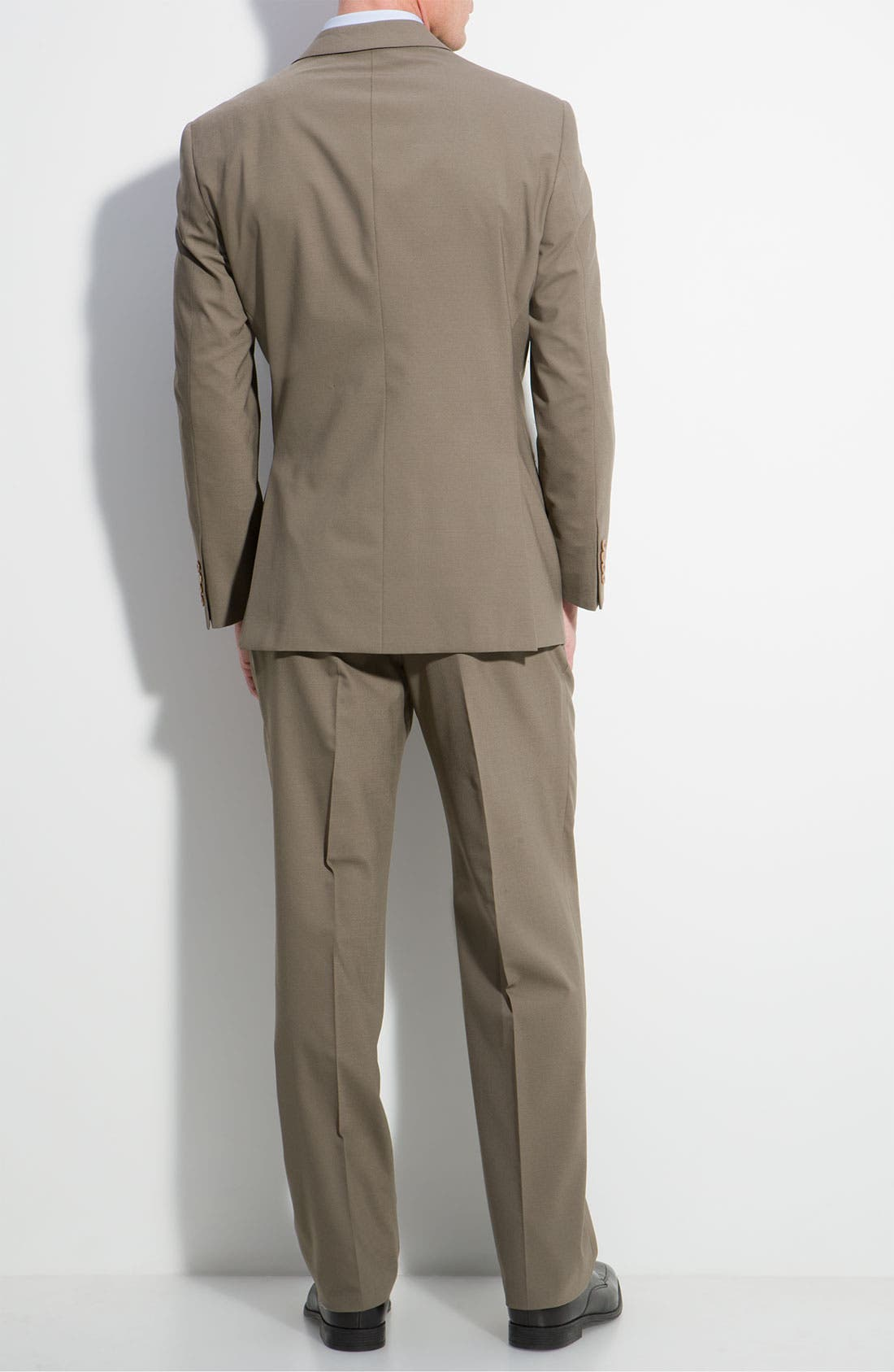 Alternate Image 2  - Armani Collezioni 'Executive' Wool Blend Suit