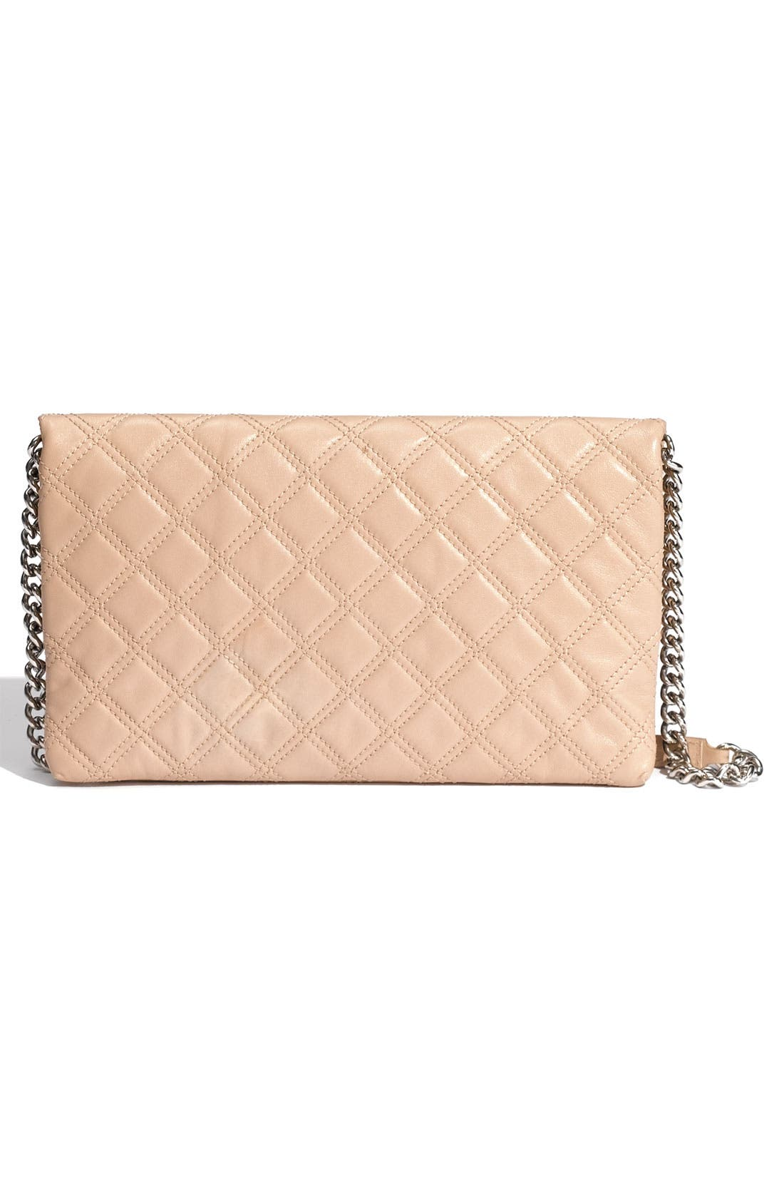 Alternate Image 4  - MARC JACOBS 'Quilting Sandy' Lambskin Leather Clutch
