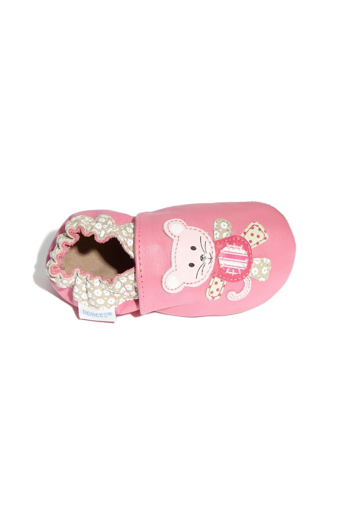 Alternate Image 3  - Robeez® 'Mouse' Slip-On (Baby & Walker)