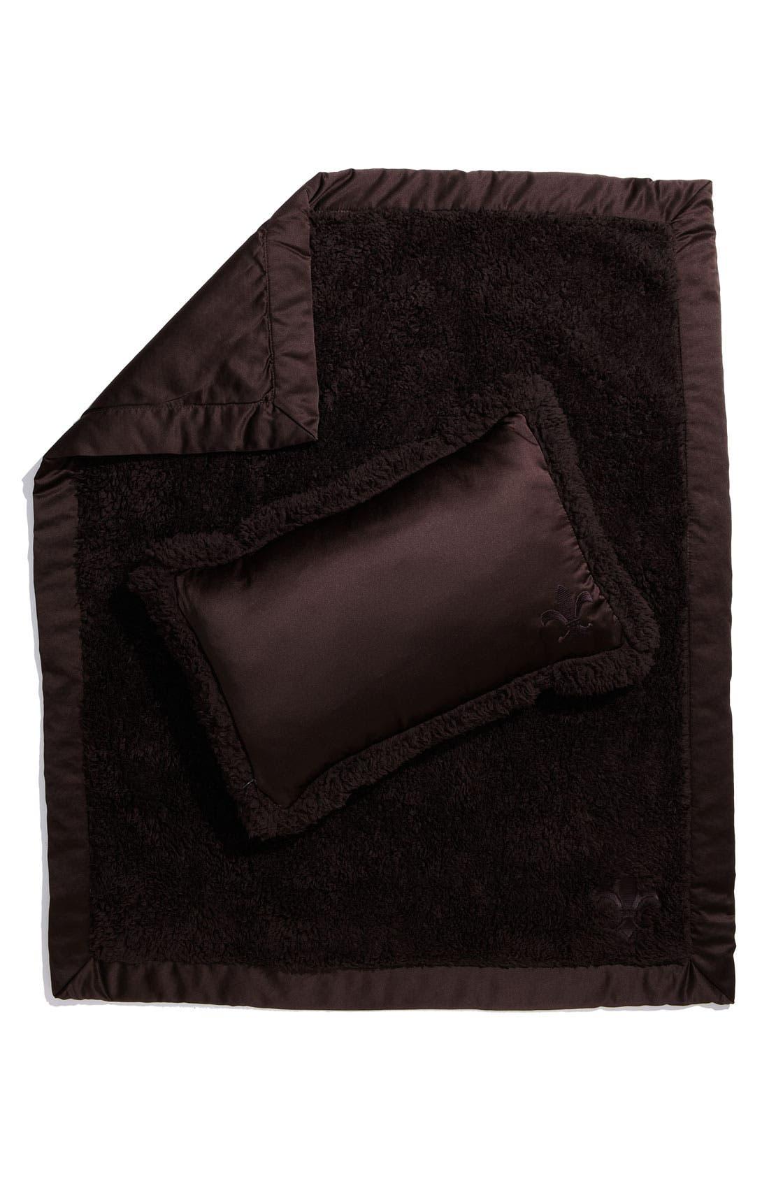 Main Image - Barefoot Dreams® 'Nap to Go' Blanket & Pillow Set