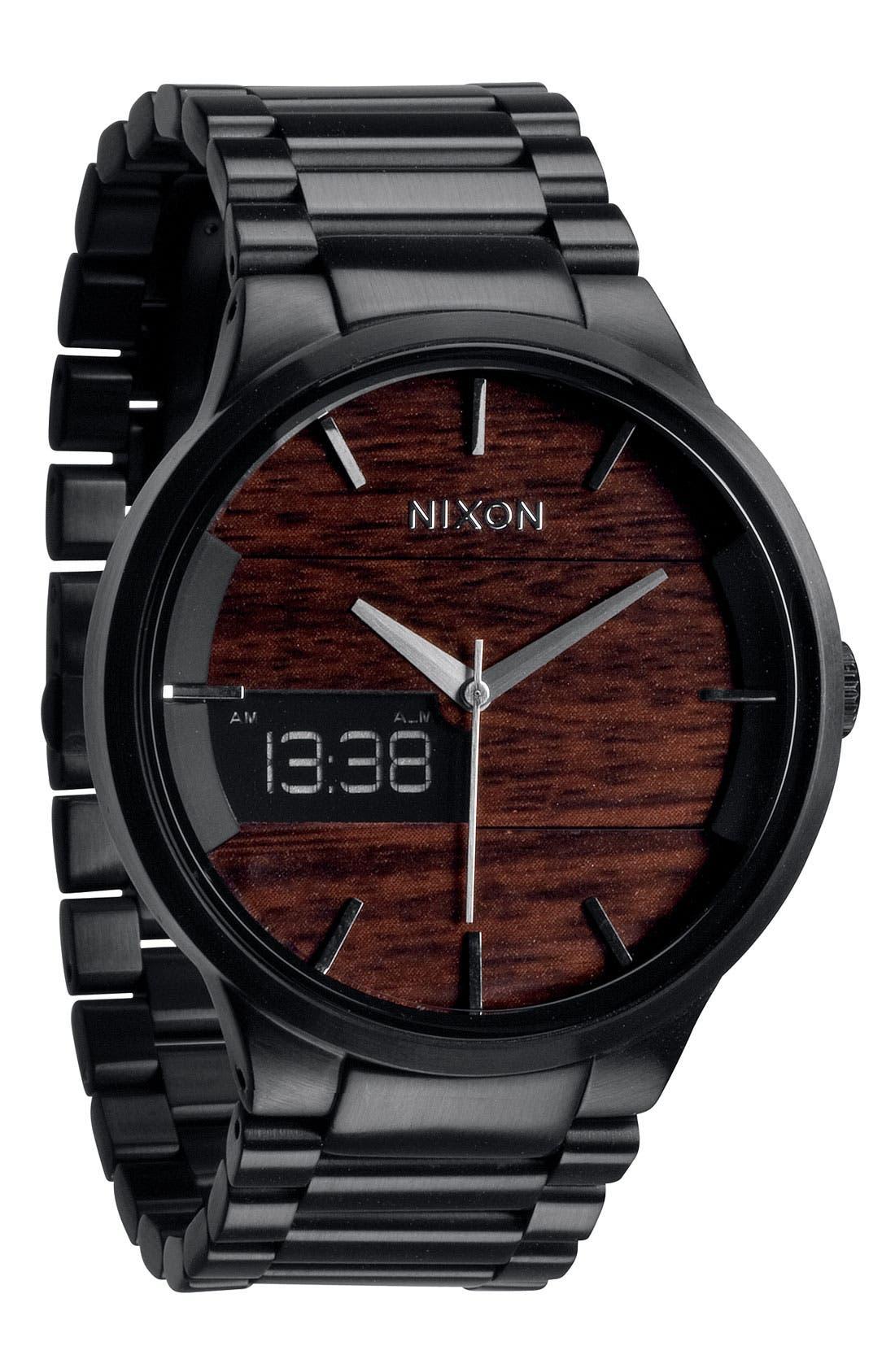 Alternate Image 1 Selected - Nixon 'The Spencer' Bracelet Watch, 45mm