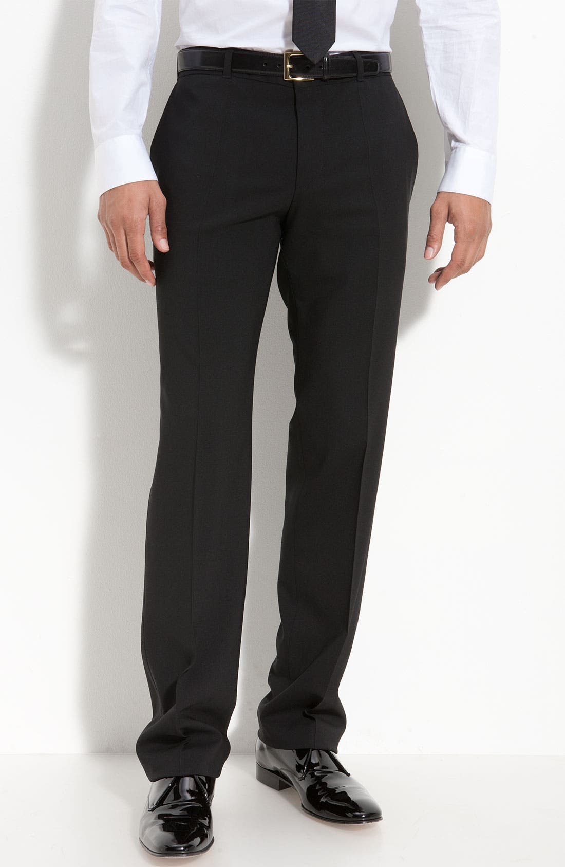 Alternate Image 5  - HUGO 'Aikin Hollo' Trim Fit Wool Tuxedo