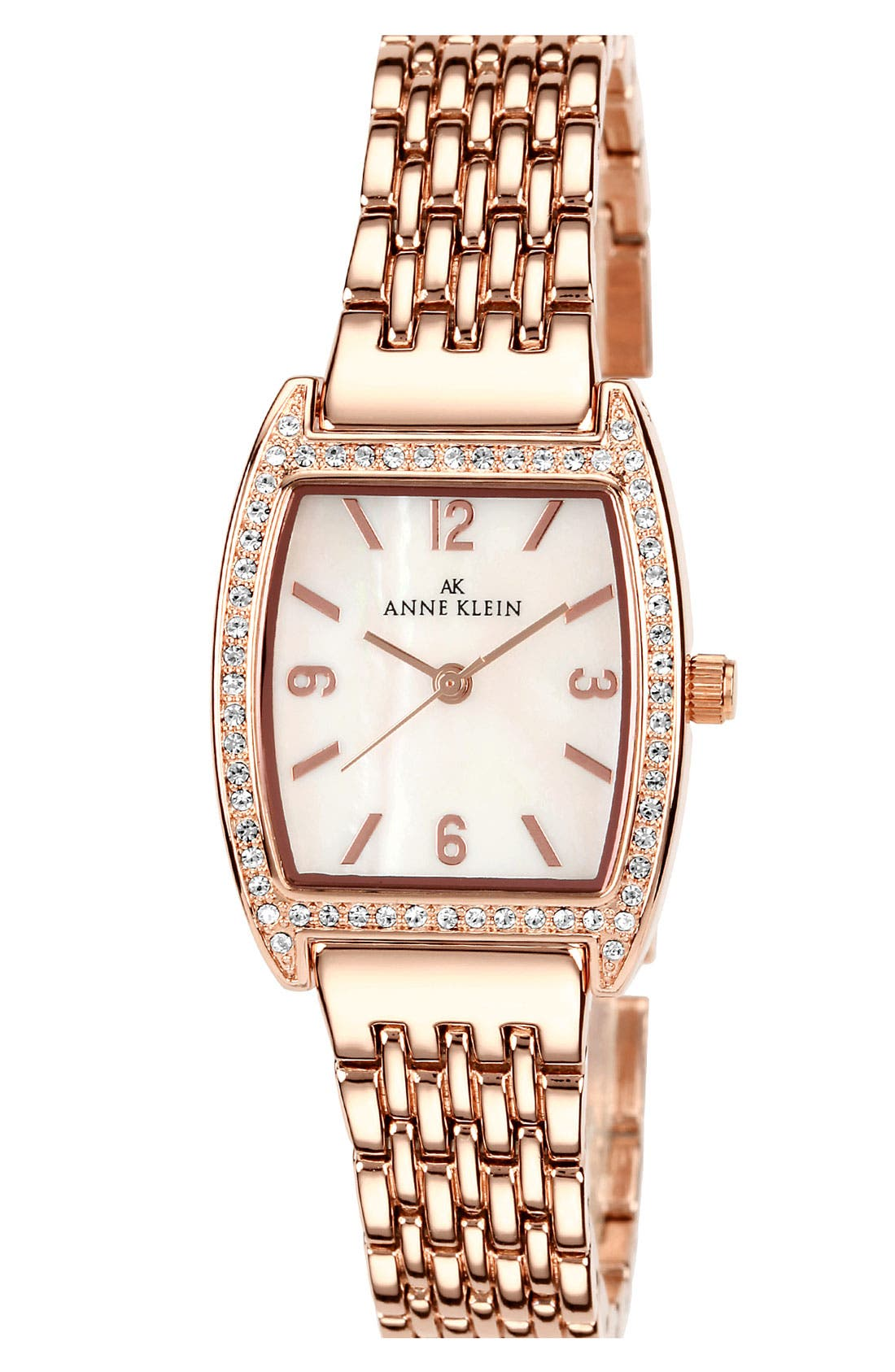 Alternate Image 1 Selected - Anne Klein Tonneau Bracelet Watch