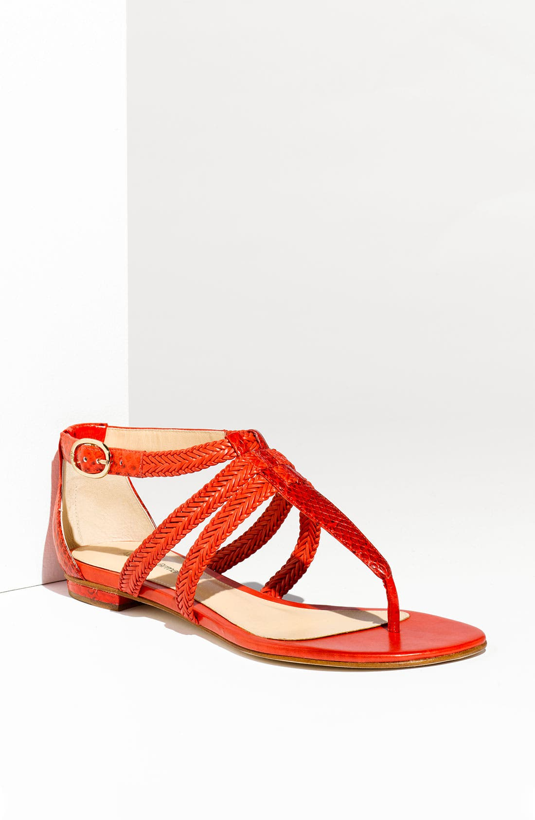 Alternate Image 1 Selected - Alexandre Birman Braided Thong Sandal