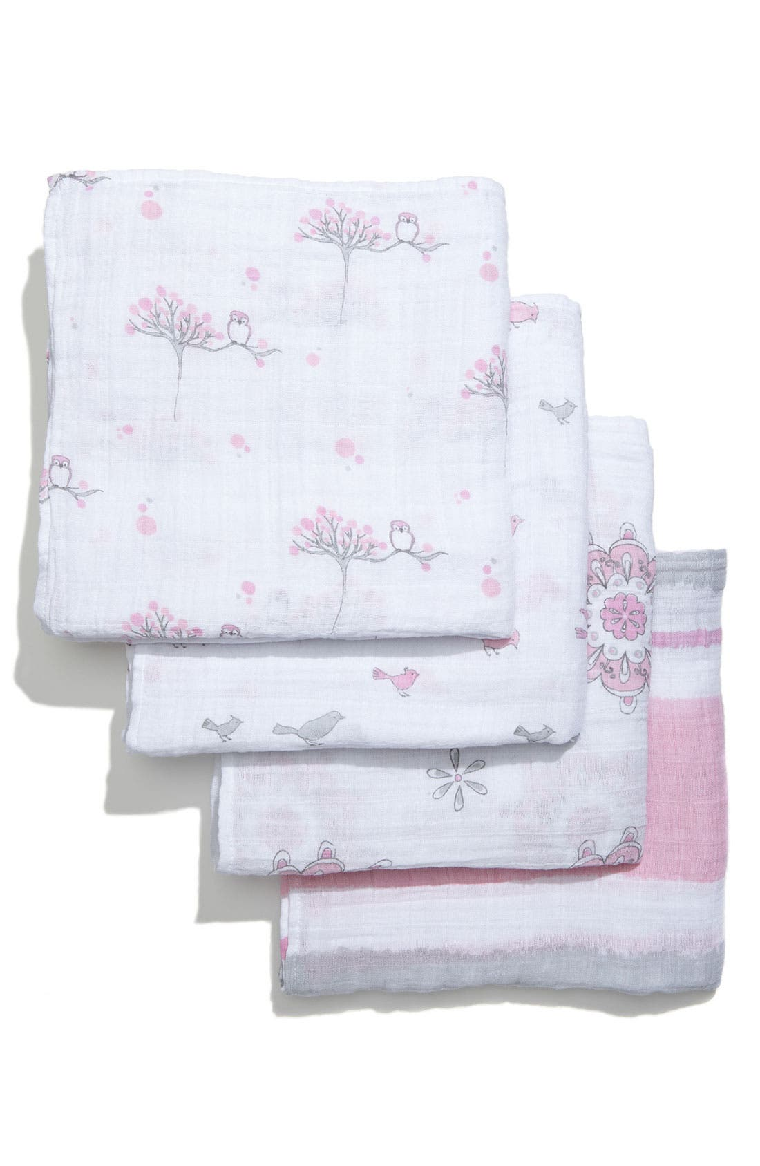 Alternate Image 2  - aden + anais Classic Swaddling Cloths (4-Pack)