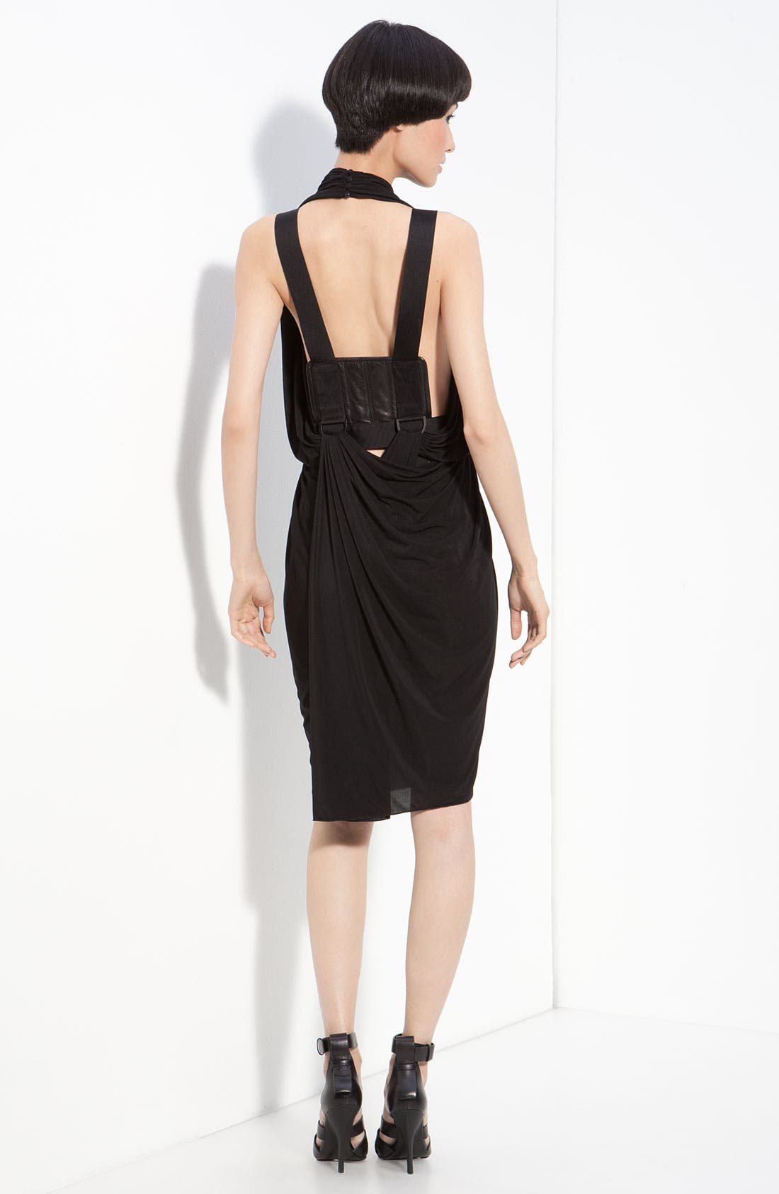 Alternate Image 2  - Alexander Wang Drape Back Halter Dress