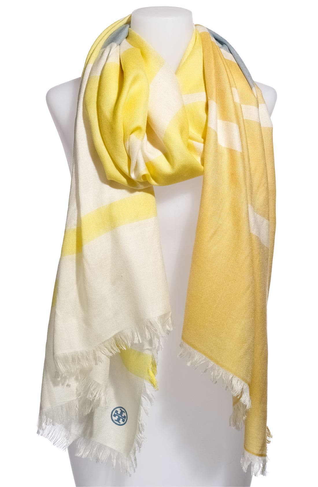 Main Image - Tory Burch Wool & Silk Scarf
