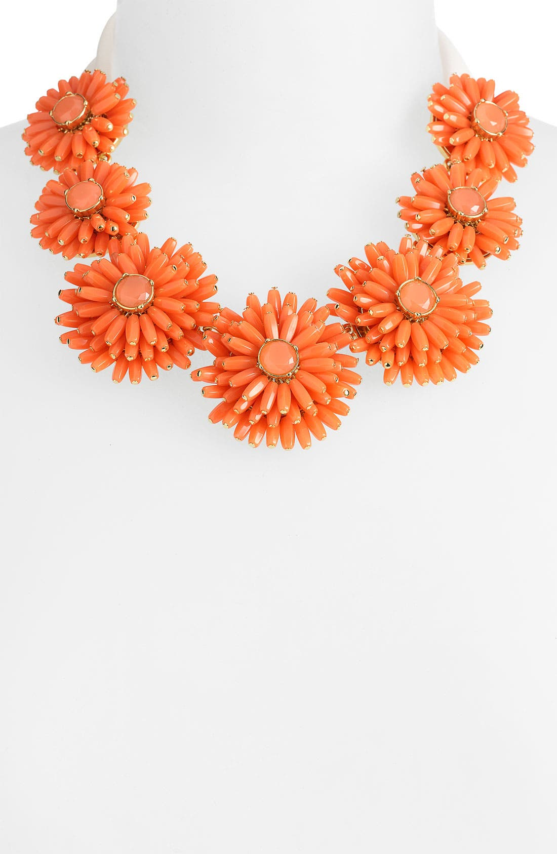Alternate Image 1 Selected - kate spade new york 'gerbera garden' statement necklace