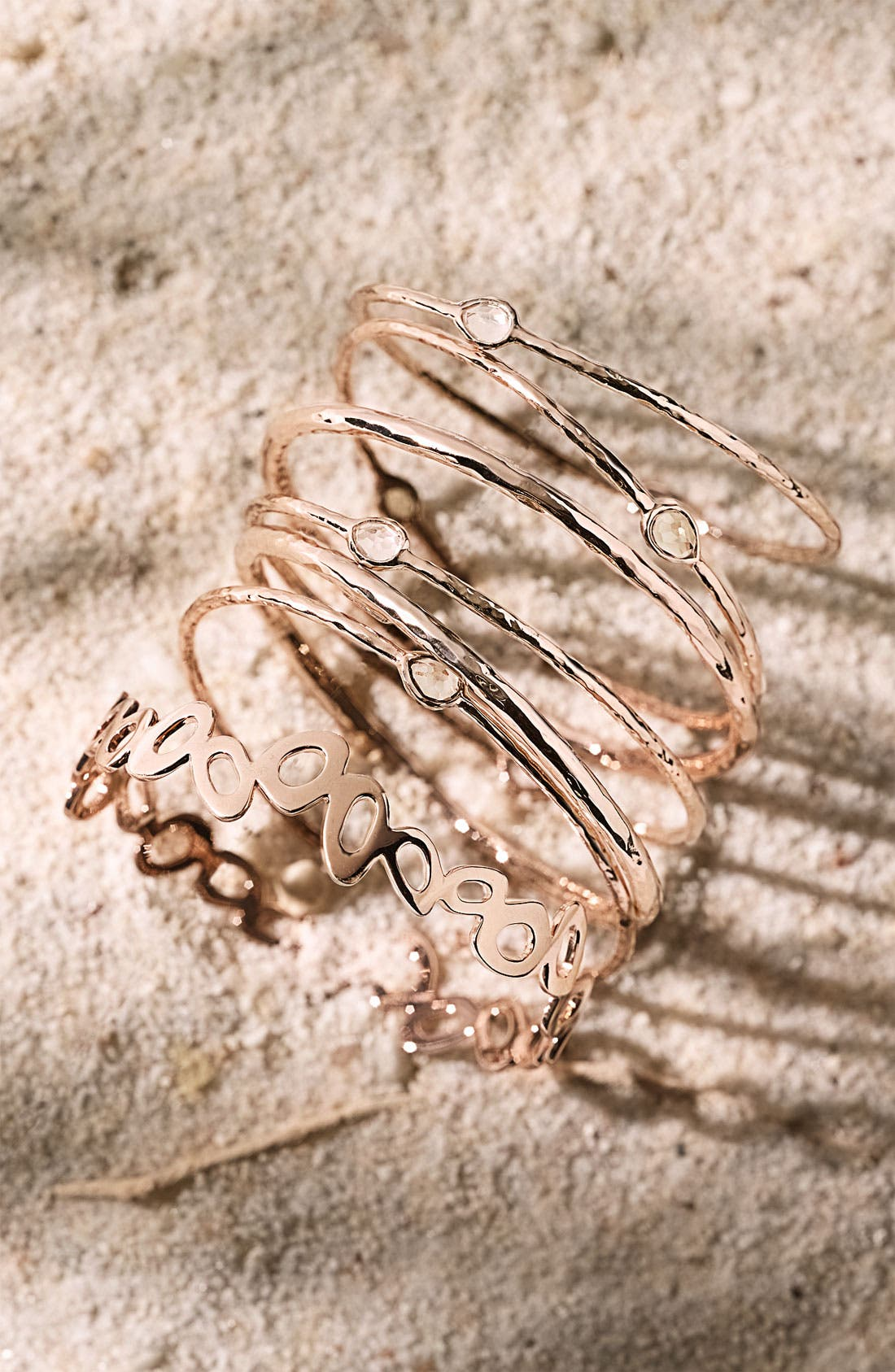 Alternate Image 2  - Ippolita 'Lite Links' Small Multi Shape Rosé Bangle