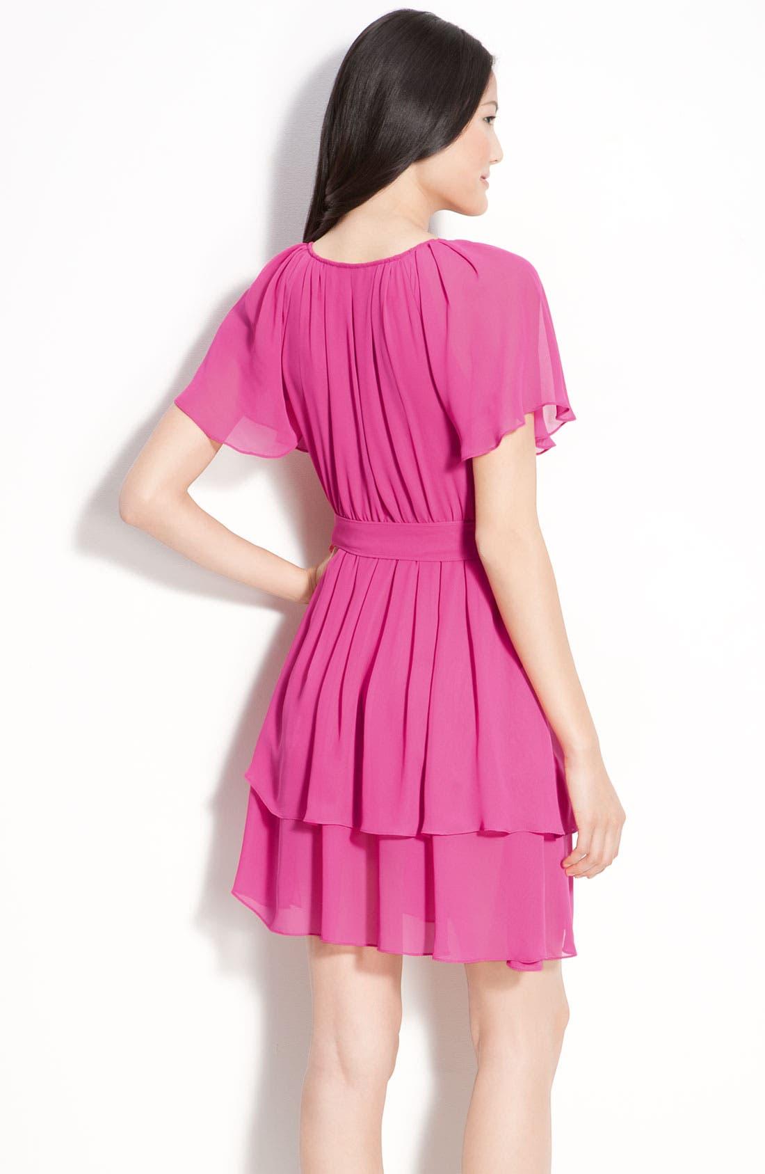 Alternate Image 2  - Seamline Cynthia Steffe Layered Chiffon Dress