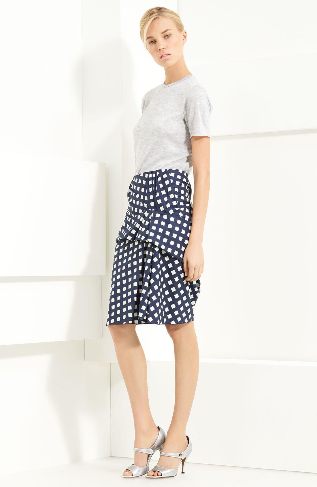 Alternate Image 3  - MARC JACOBS Gingham Drape Front Skirt