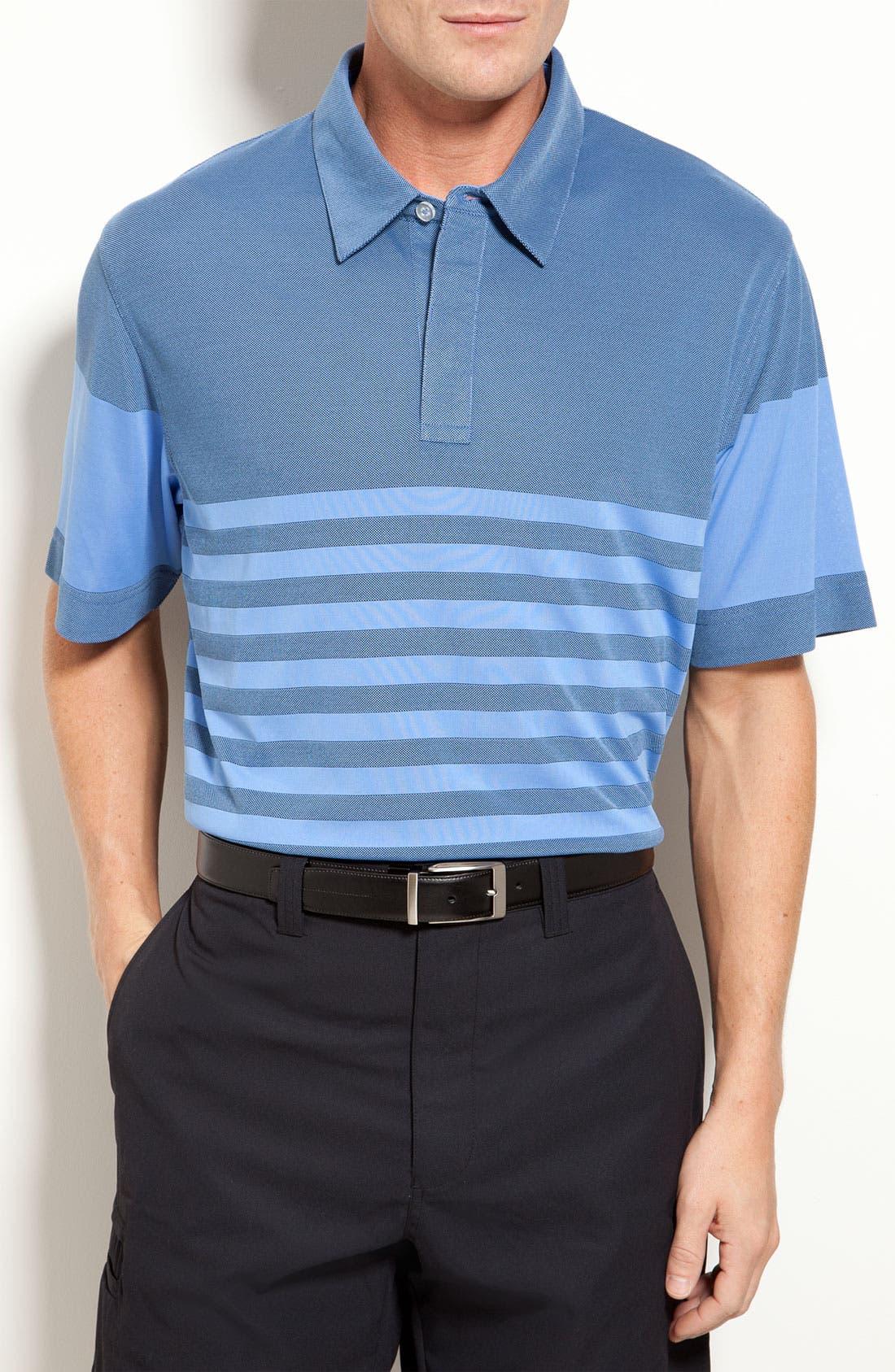Alternate Image 1 Selected - Callaway Stripe Polo