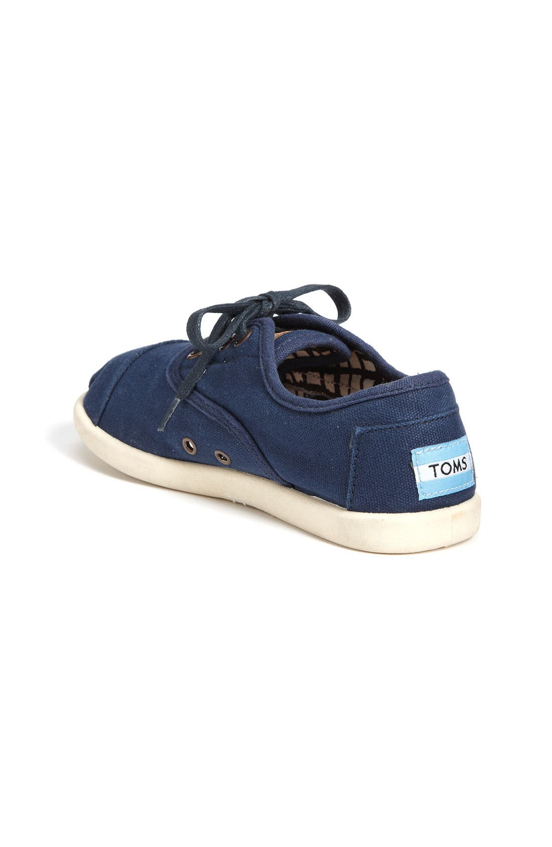 Alternate Image 2  - TOMS 'Cordones - Youth' Canvas Slip-On (Toddler, Little Kid & Big Kid)
