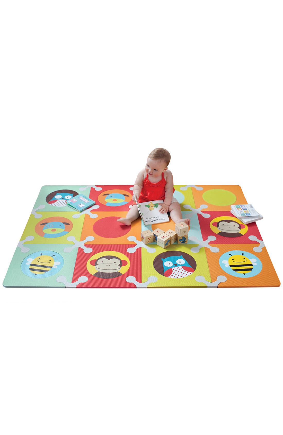 Main Image - Skip Hop 'Playspot Zoo' Foam Floor Tiles