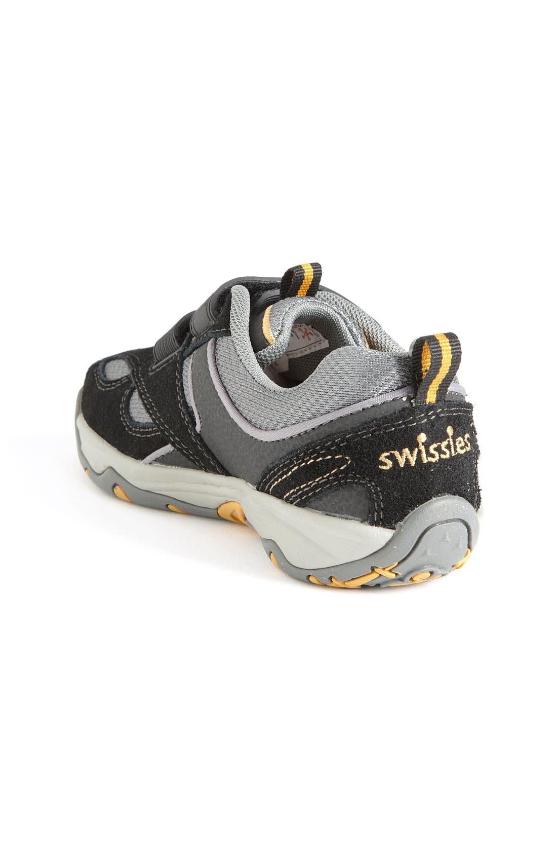Alternate Image 2  - Swissies 'Mark' Athletic Sneaker (Toddler, Little Kid & Big Kid)