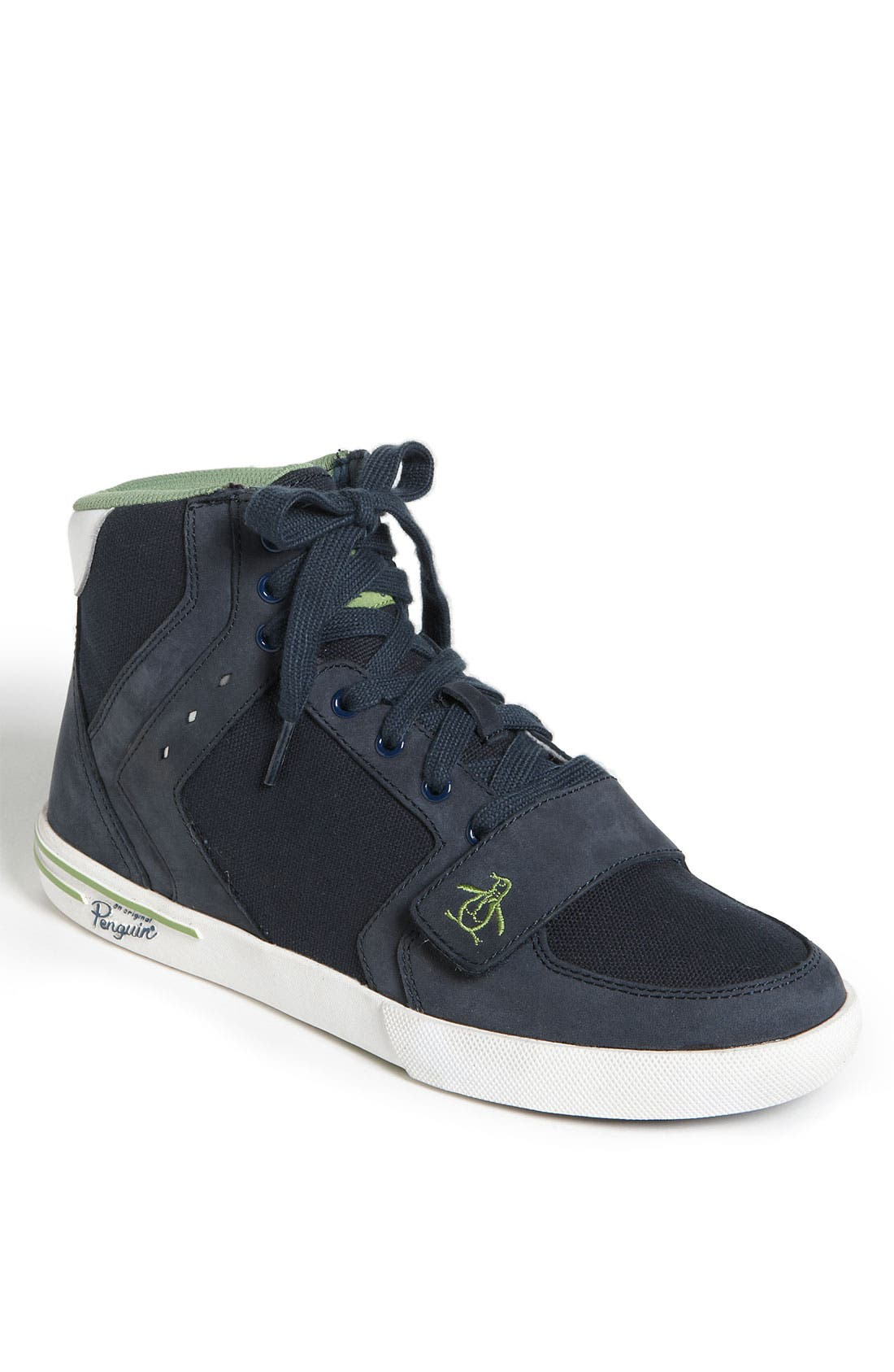 Alternate Image 1 Selected - Original Penguin 'Moby' High Top Sneaker (Men)