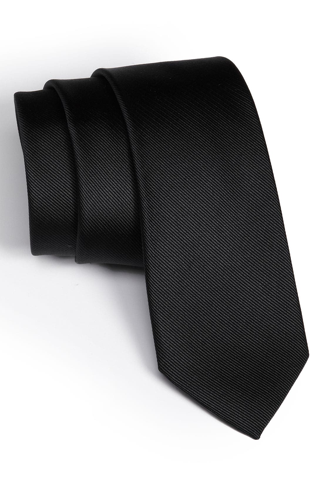 Main Image - Public Opinion Solid Silk Tie