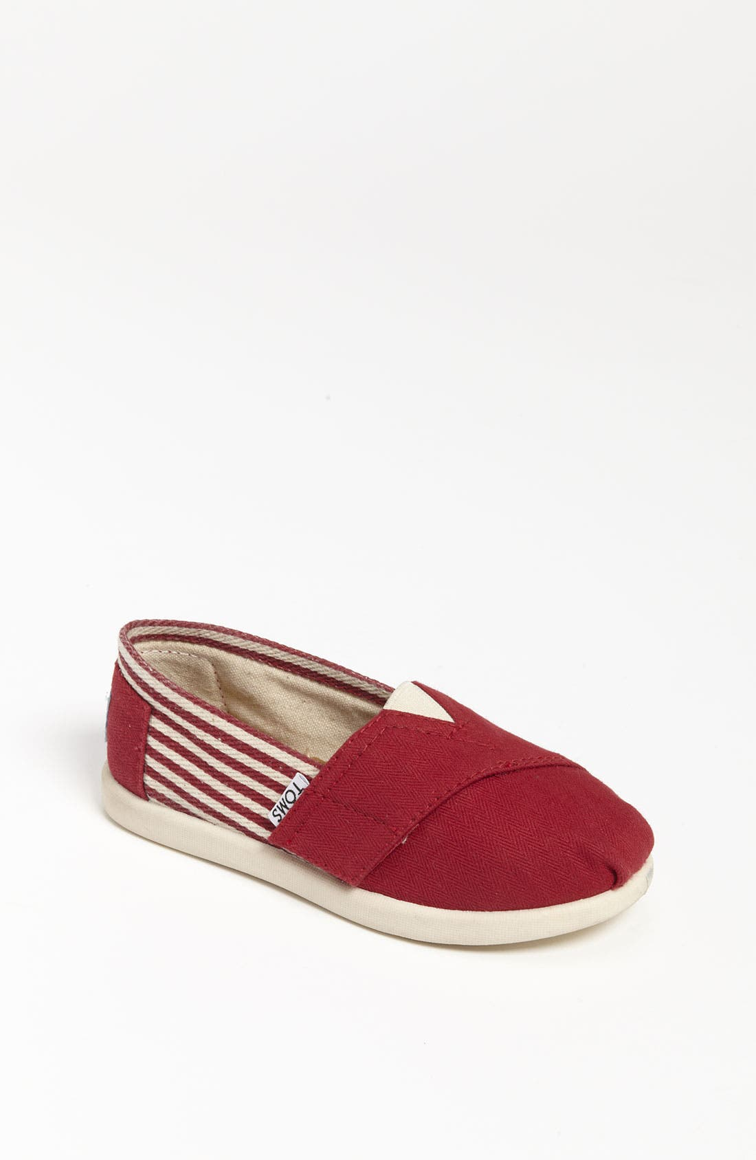 Alternate Image 1 Selected - TOMS 'Classic Tiny - University' Slip-On (Baby, Walker & Toddler) (Nordstrom Exclusive)