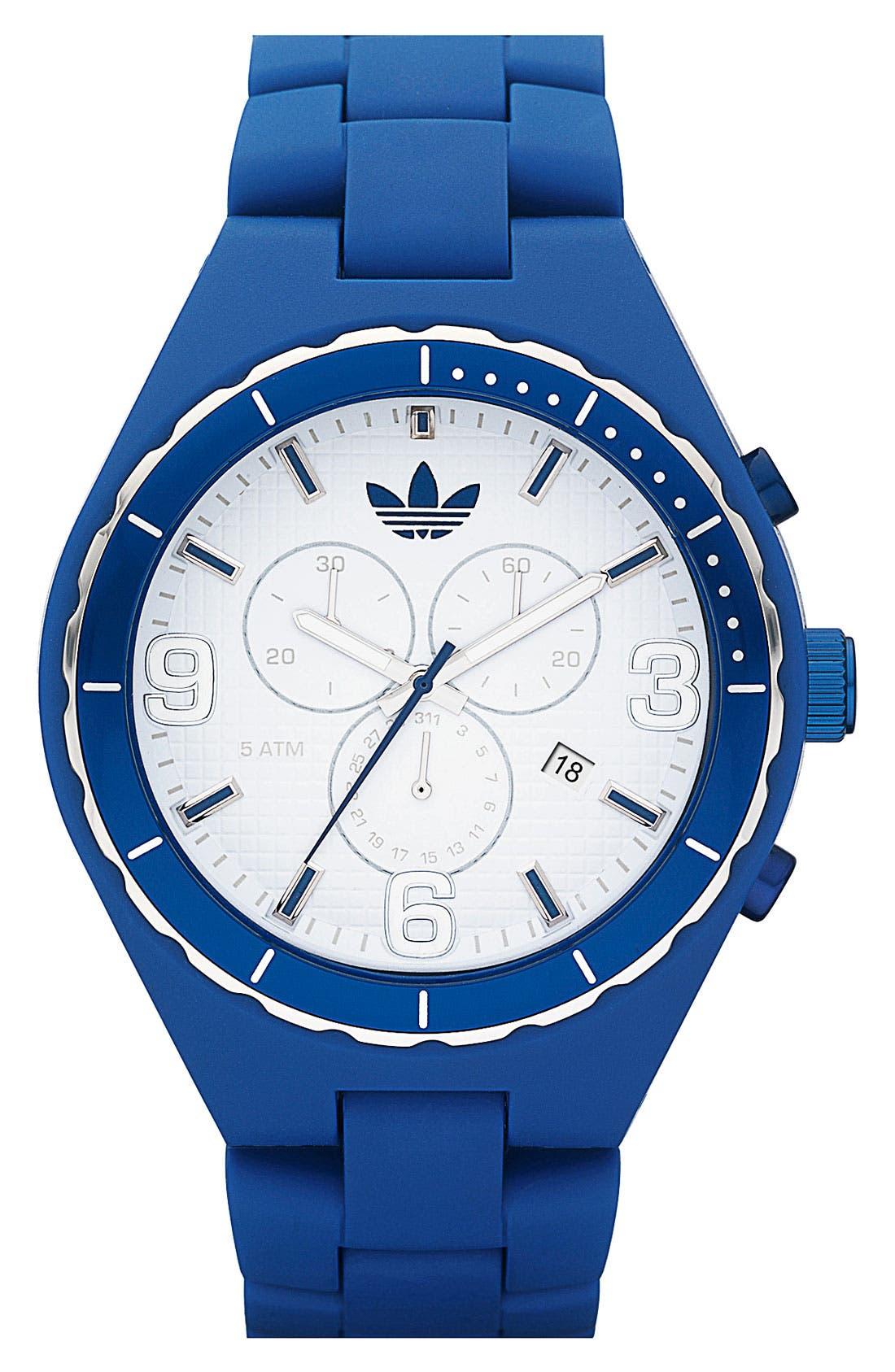 Alternate Image 1 Selected - adidas Originals 'Resin Cambridge' 44mm Chronograph Watch