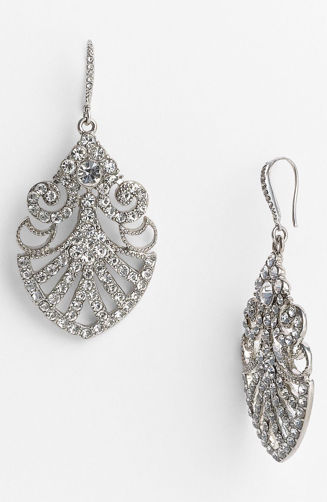Alternate Image 1 Selected - Nina 'Hazel' Filigree Drop Earrings